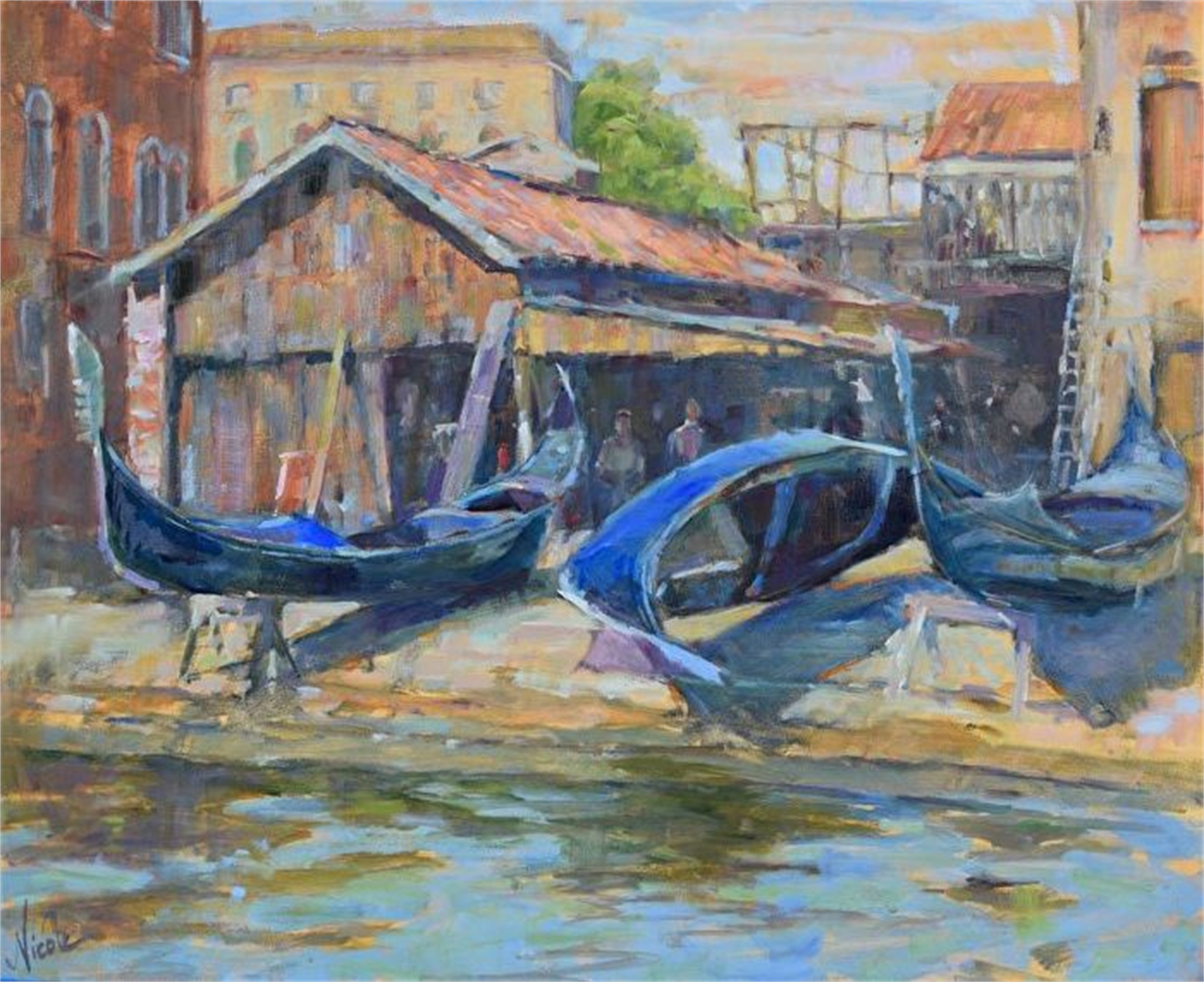 Rest and Restoration in Venice by Nicole White Kennedy