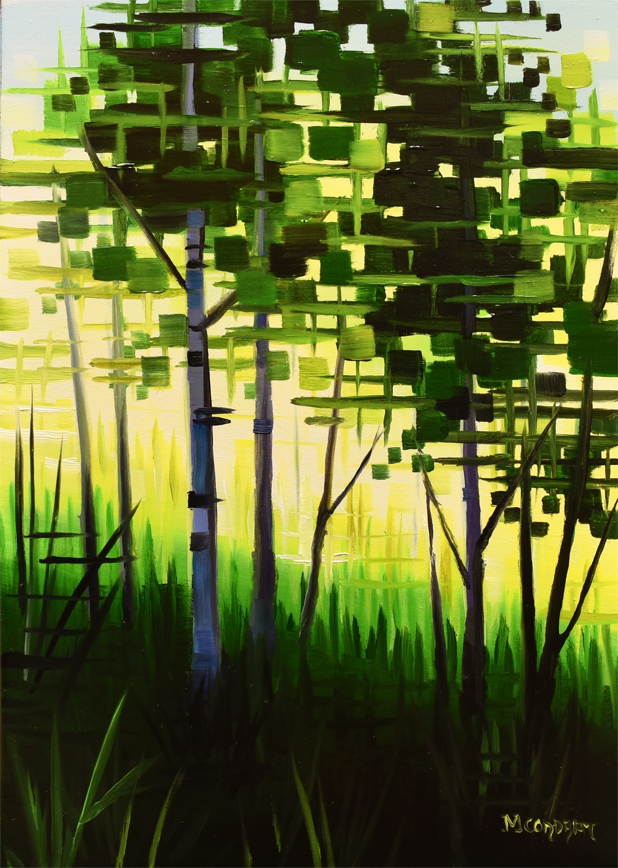 Neon Grove by Michelle Condrat