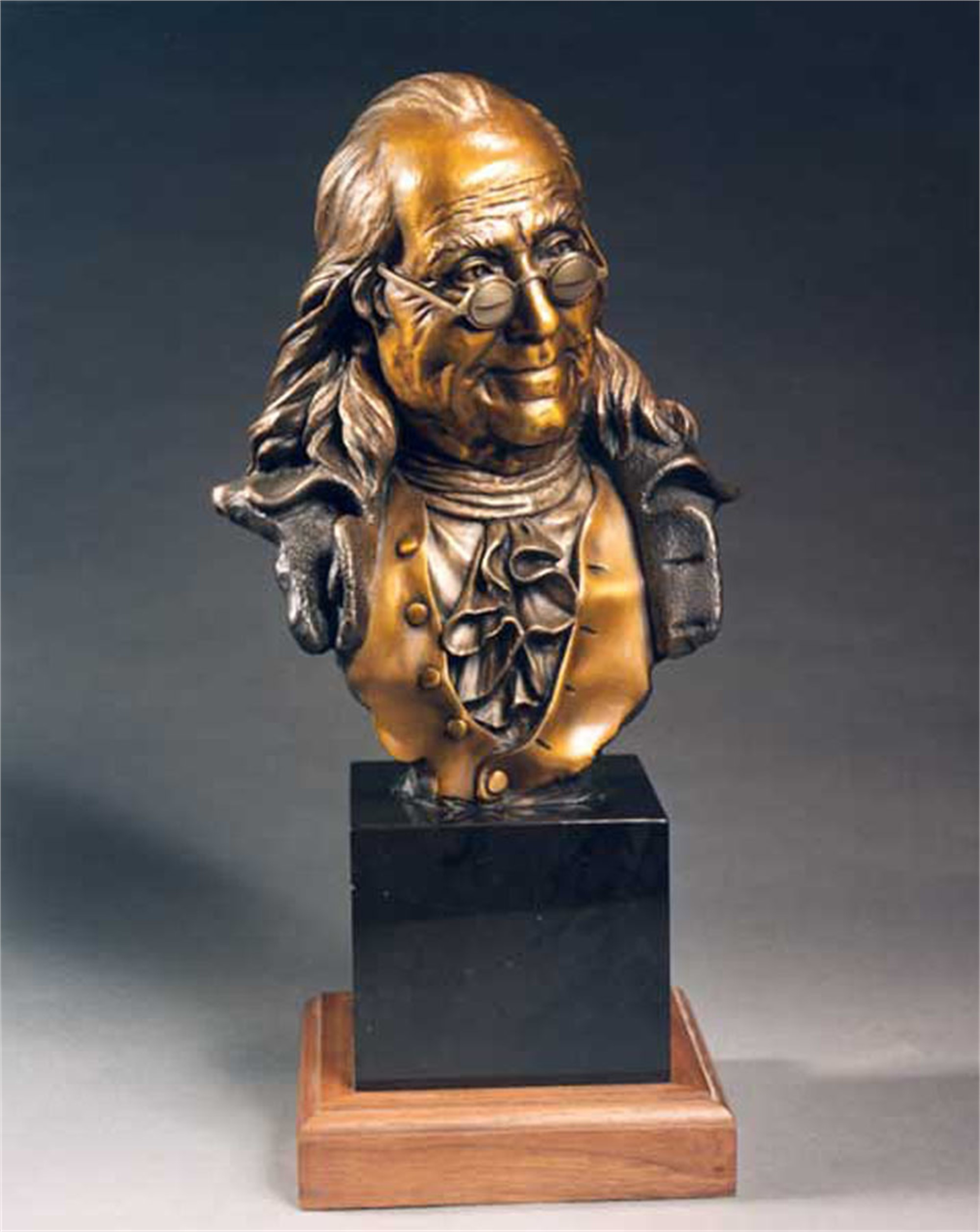 Ben Franklin Bust by George Lundeen