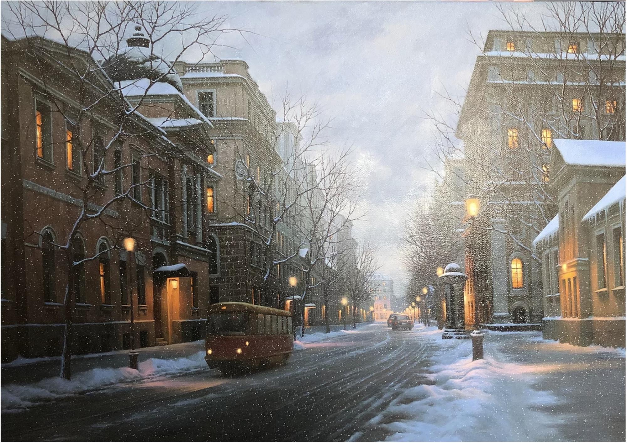 Wistful Streetcar by Alexei Butirskiy