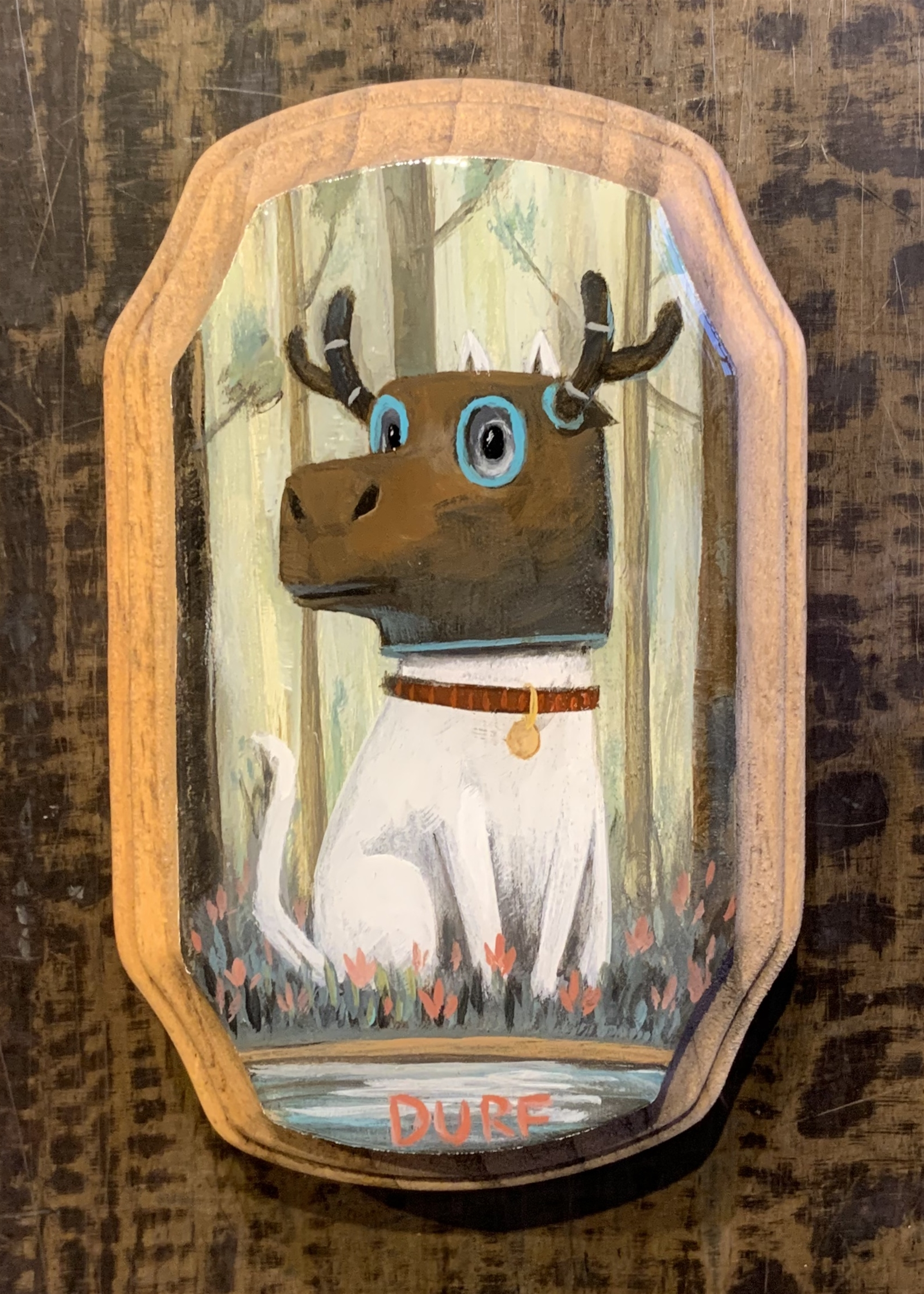 Cat in a Moose Hat by Nathan Durfee