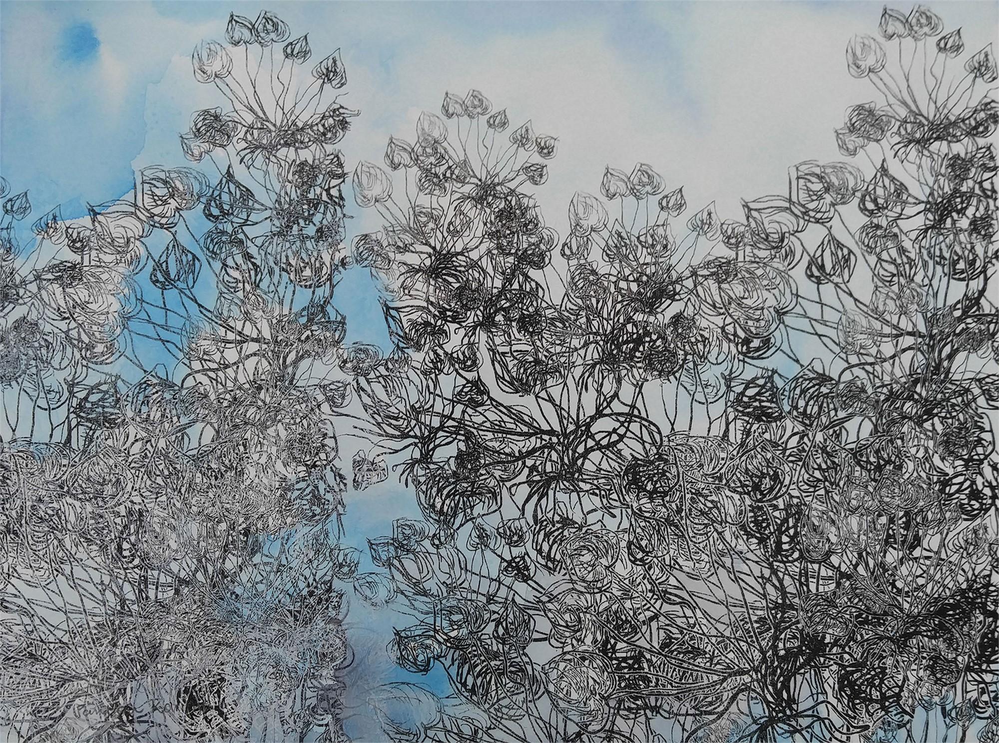Blue Viola ii by Pantea Karimi