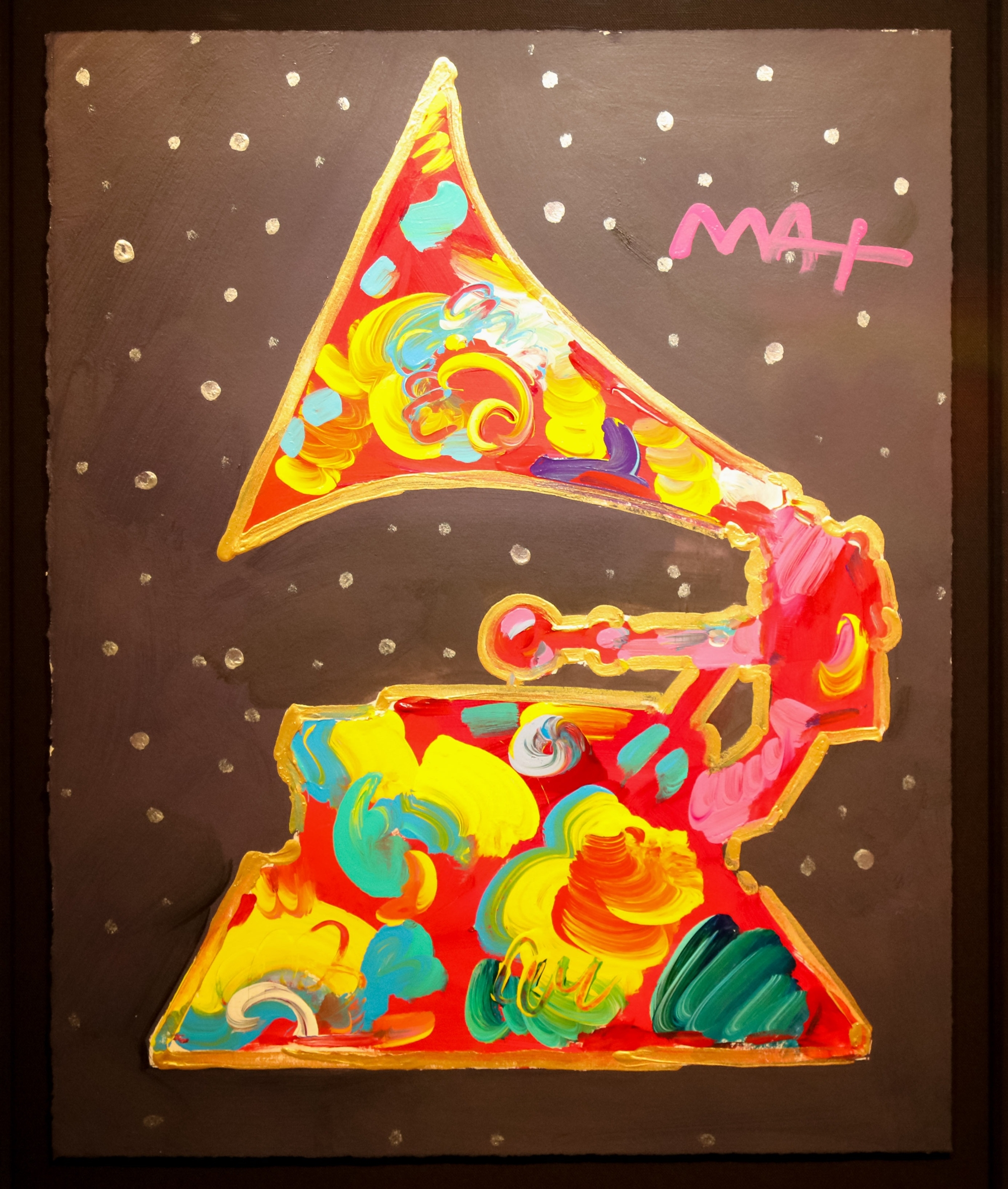 GRAMMY 1991 by Peter Max