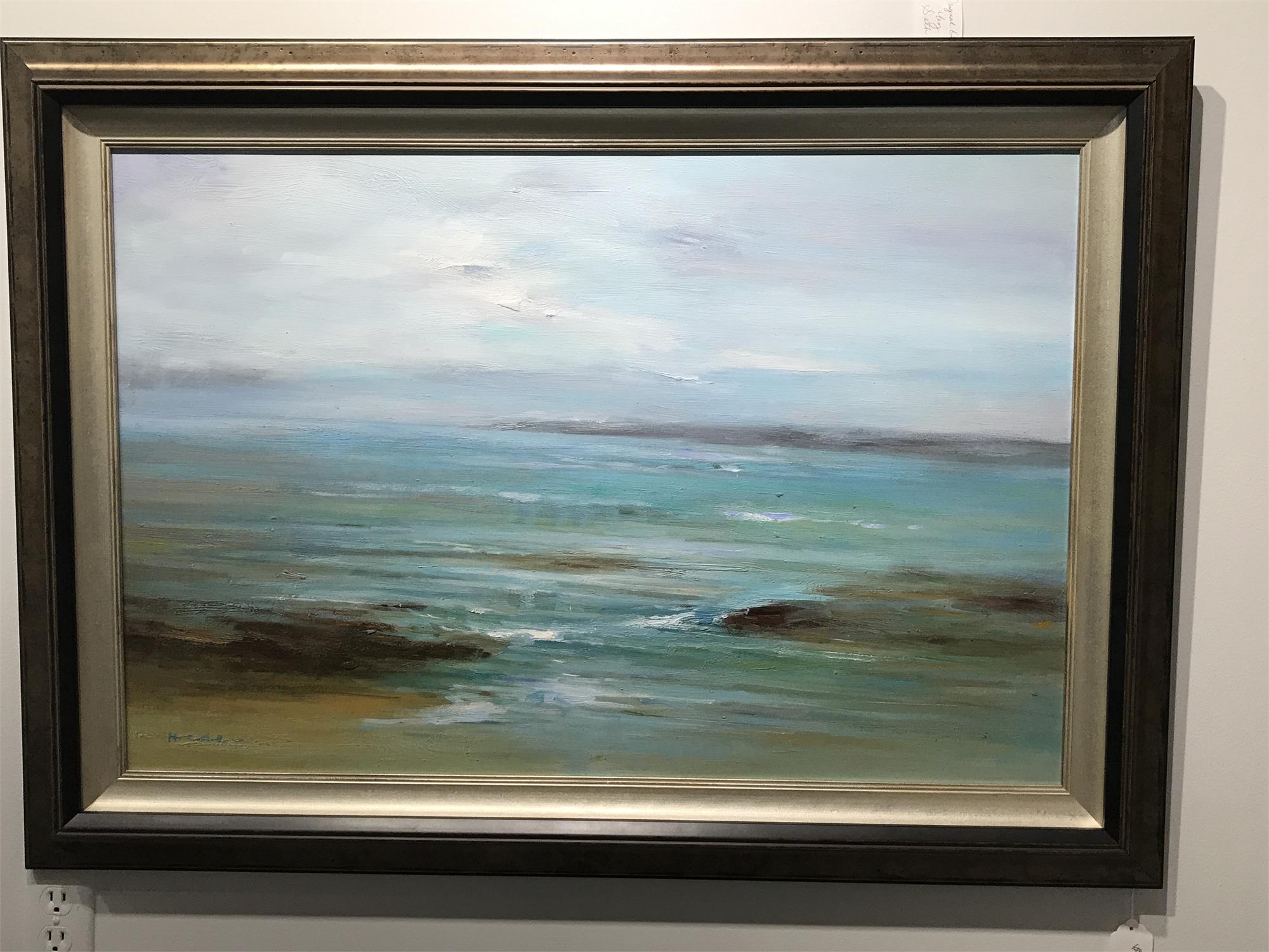 BEACH SCENE by H. CAVENDER