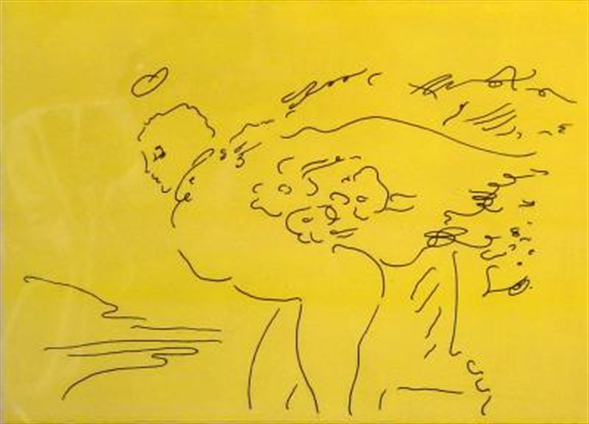 Angels 5 (Suite of Six) by Peter Max
