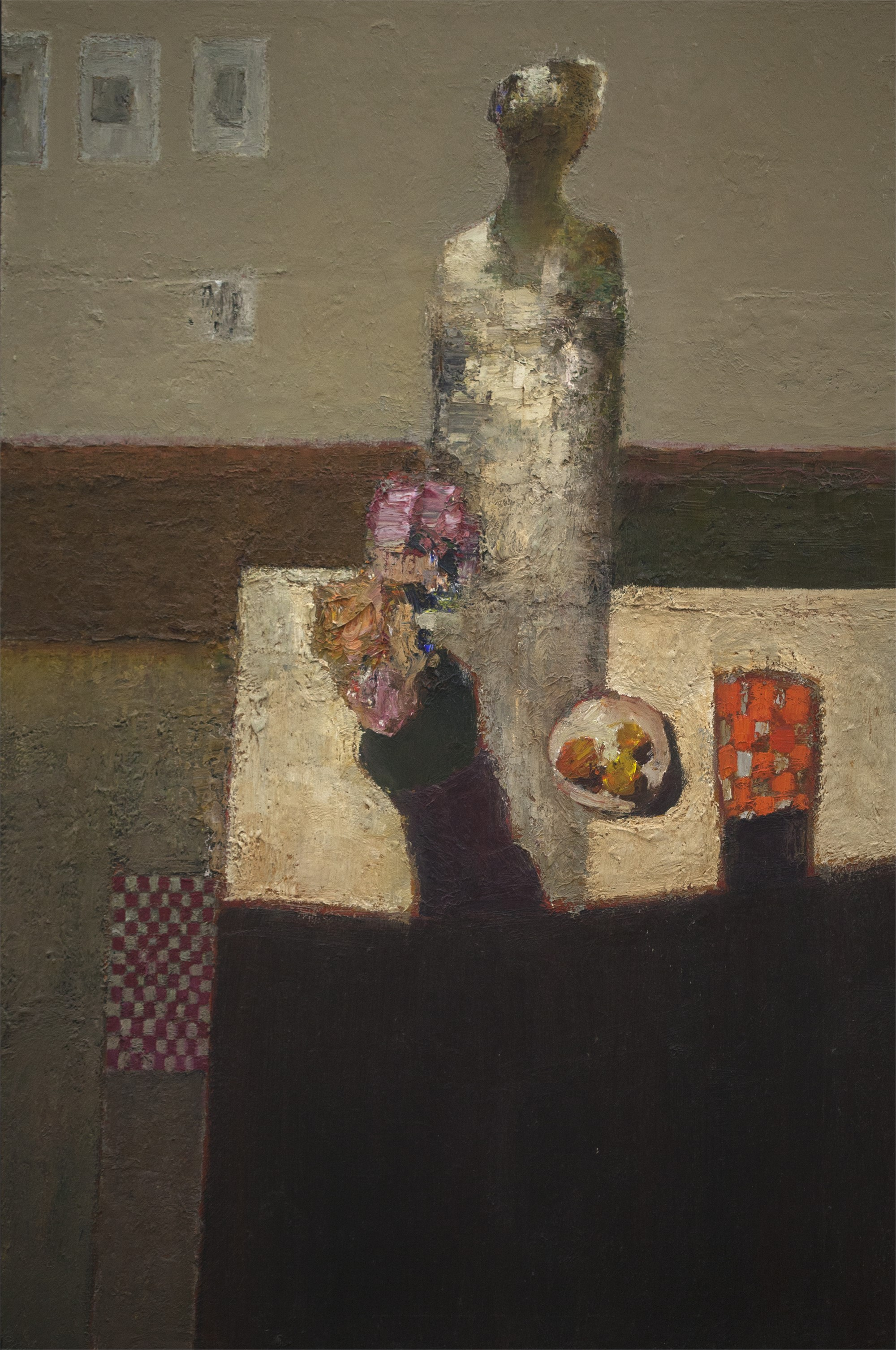 Figure at Table by Dan McCaw