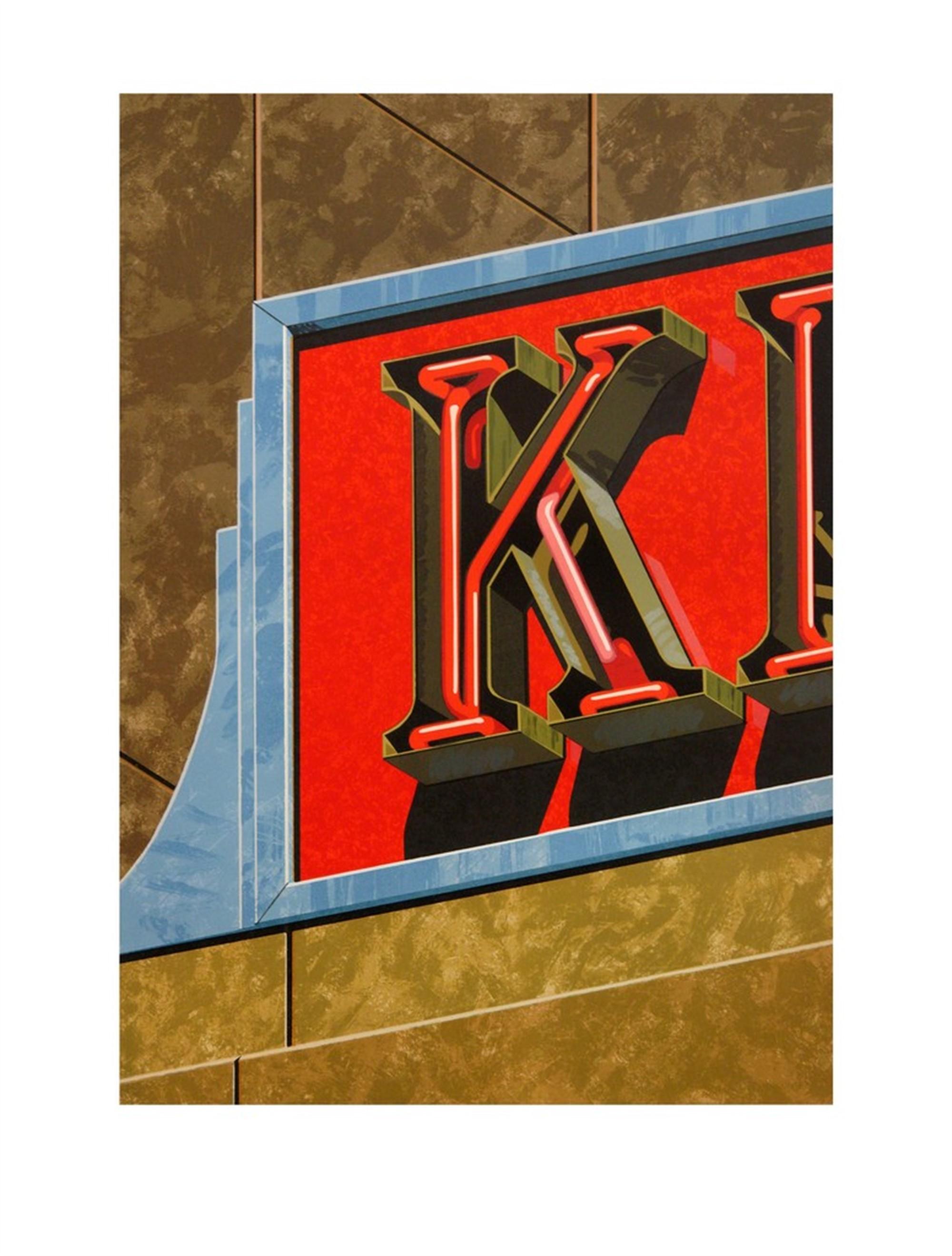 An American Alphabet: K by Robert Cottingham