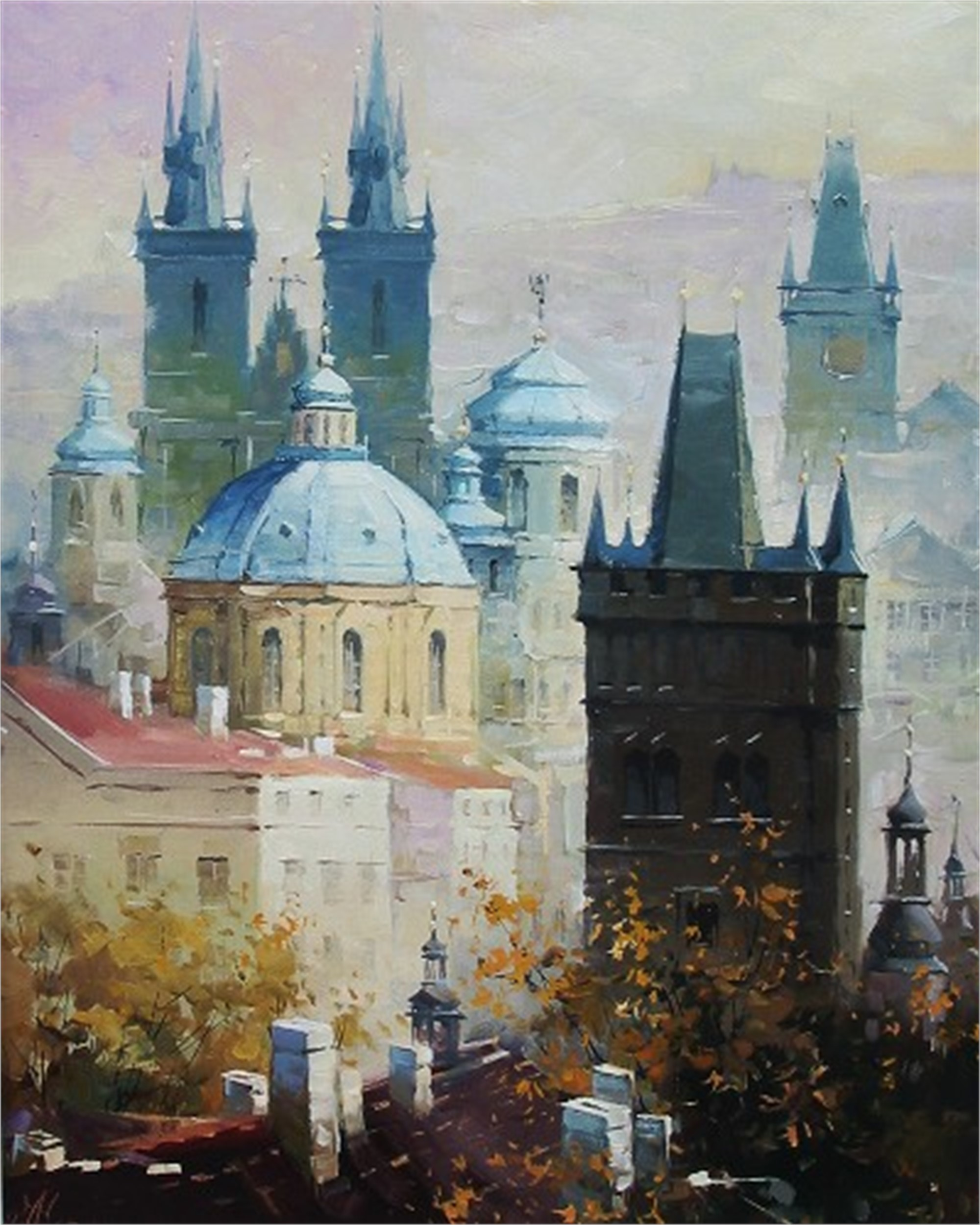MEMORIES OF PRAGUE by CHERNYSH