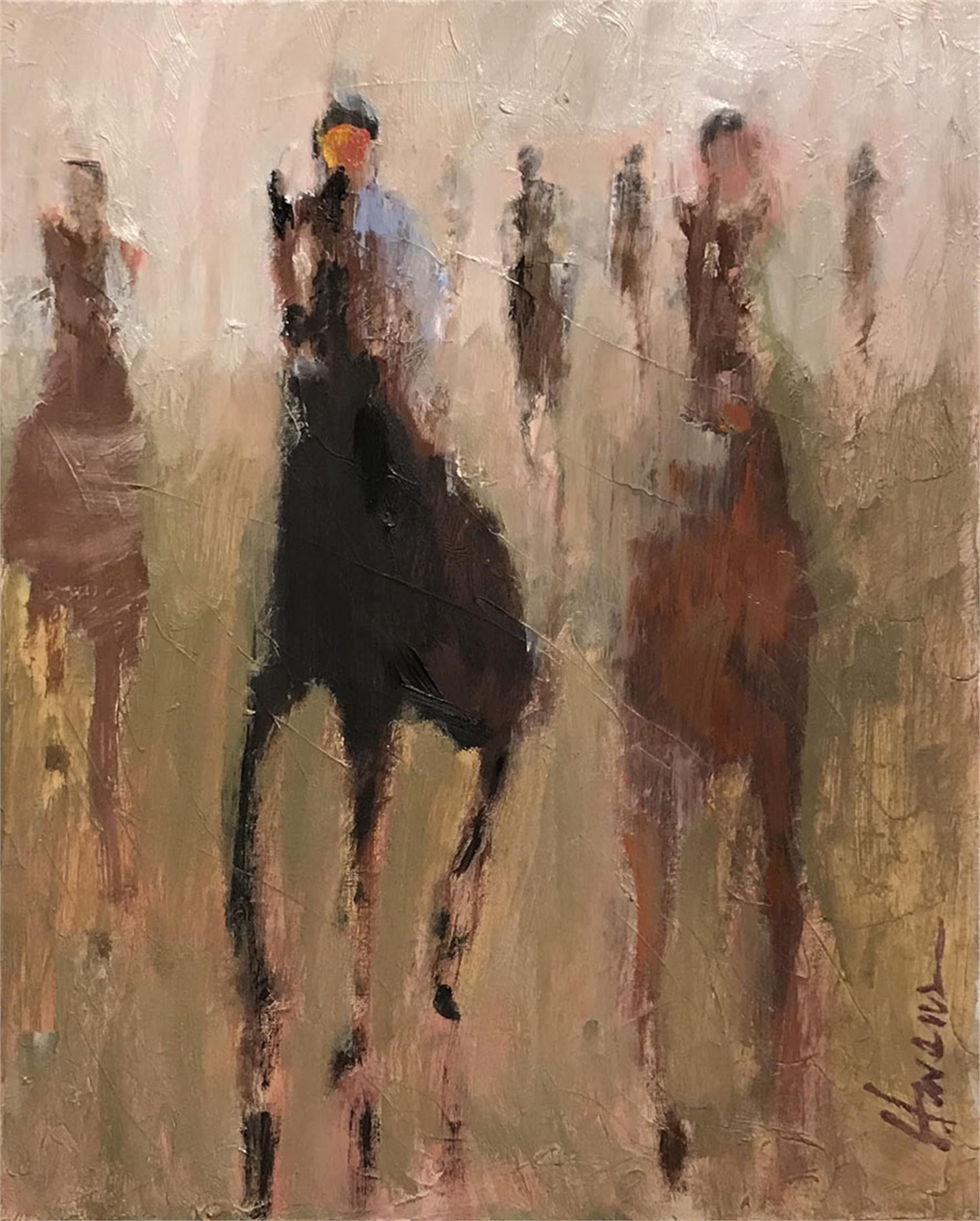 Late Day Race by Betsy Havens