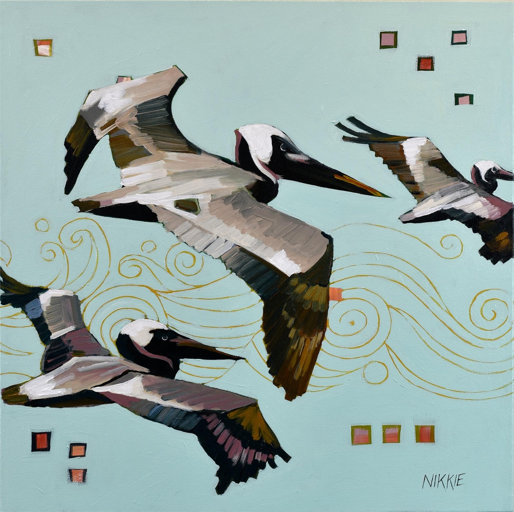 Coastal Pterodactyls by Nikkie Markle
