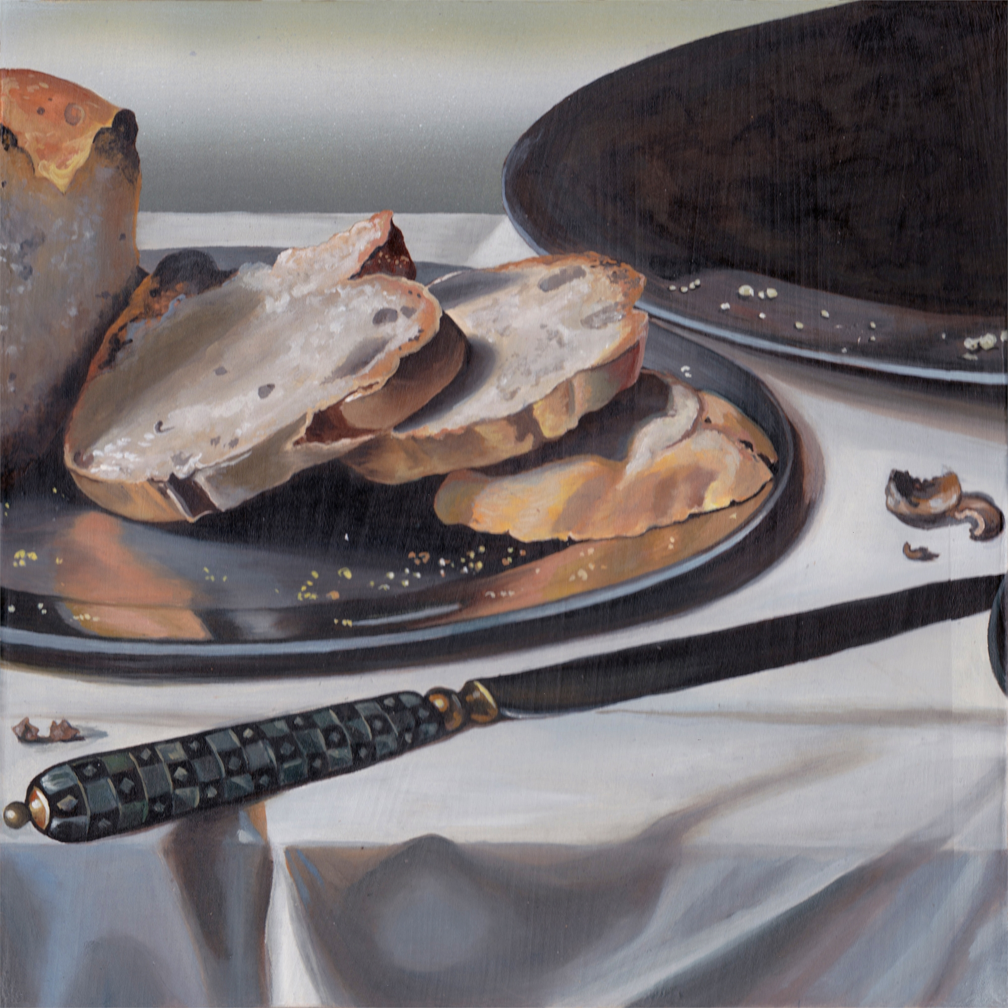 Bread always falls on the buttered side by Melissa Furness