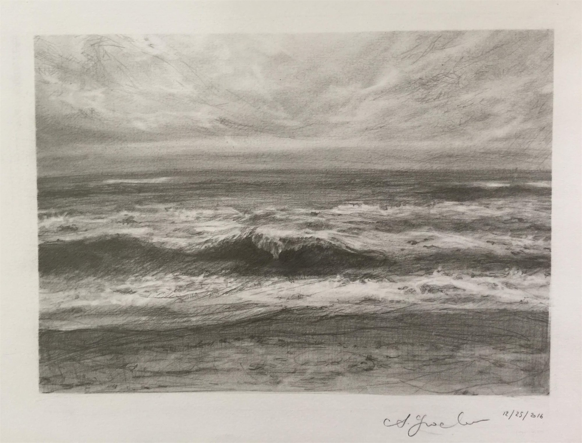 Wave Study 2 by Agnes Grochulska