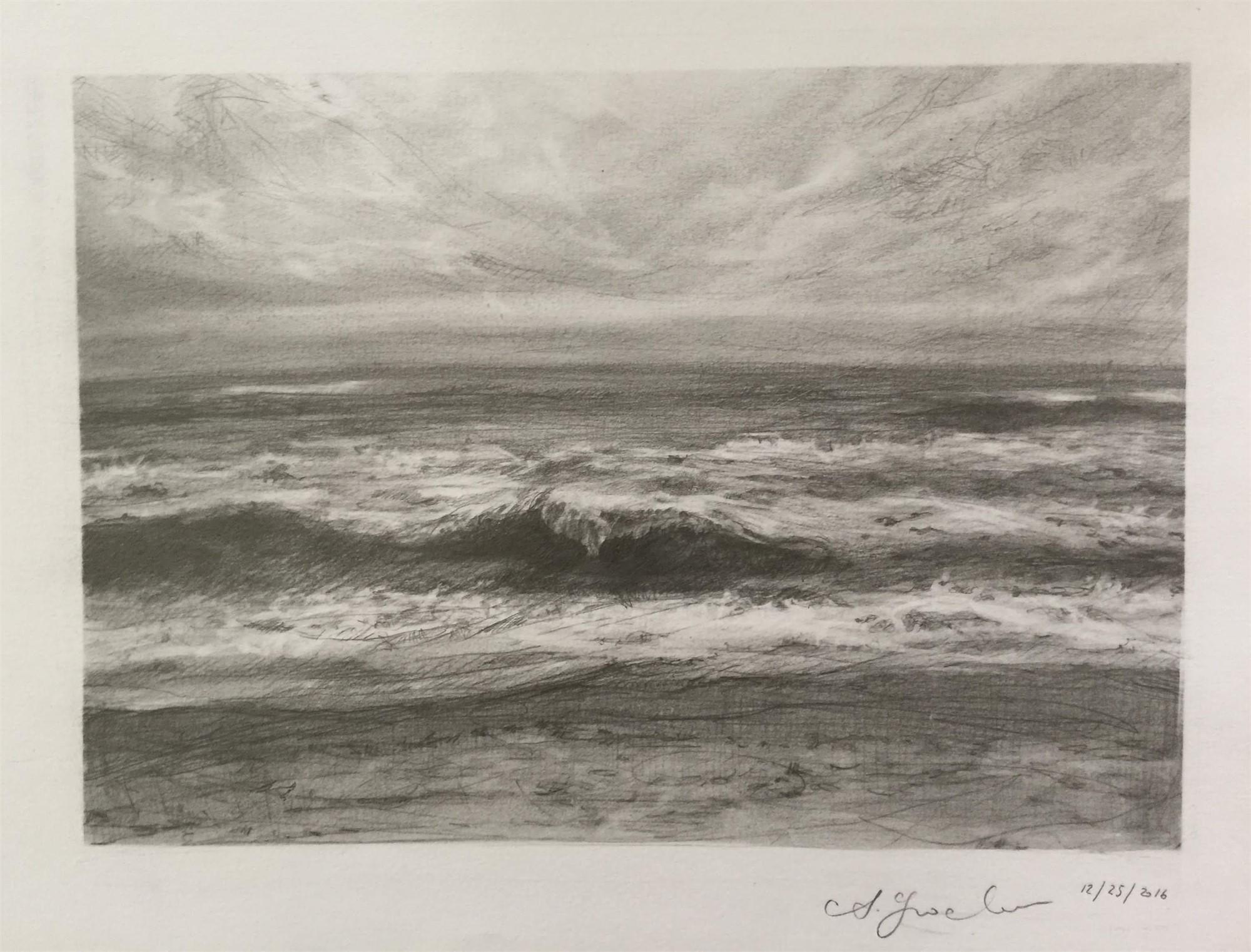 Wave Study 2 by Agnes Grochulska