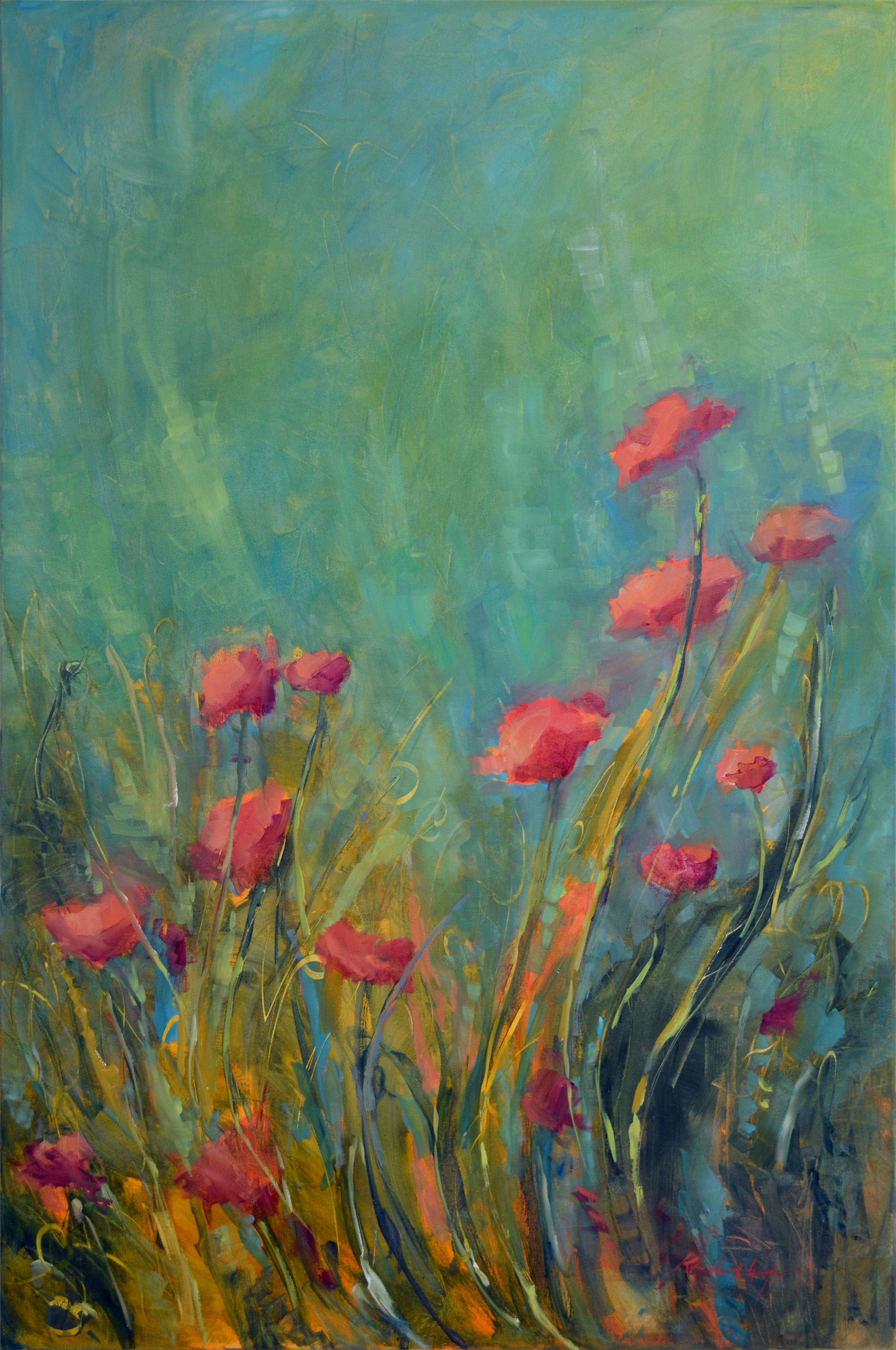 Dance of the Poppies by Karen Hewitt Hagan