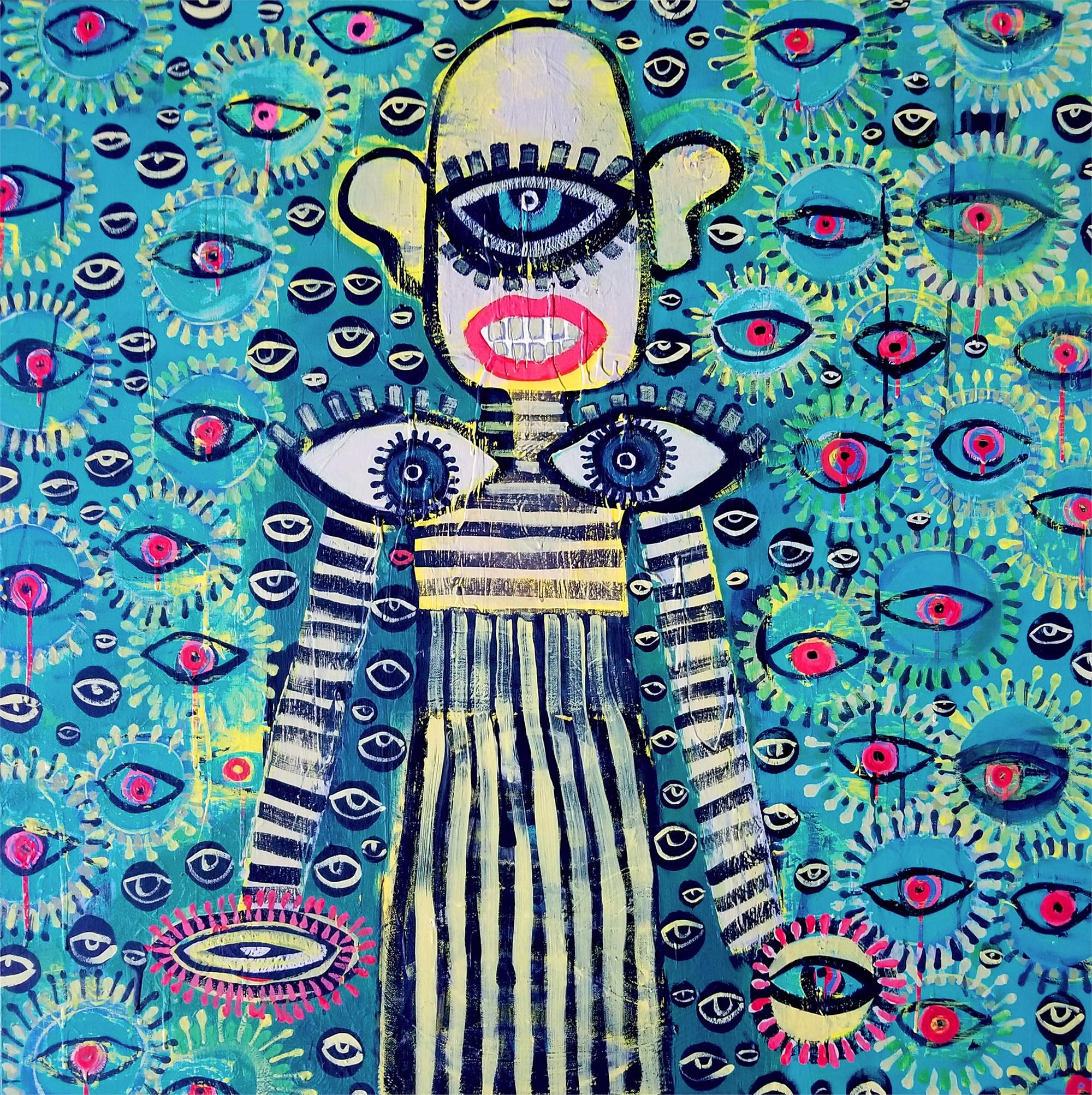Triple, Third Eye by Laura Castellanos