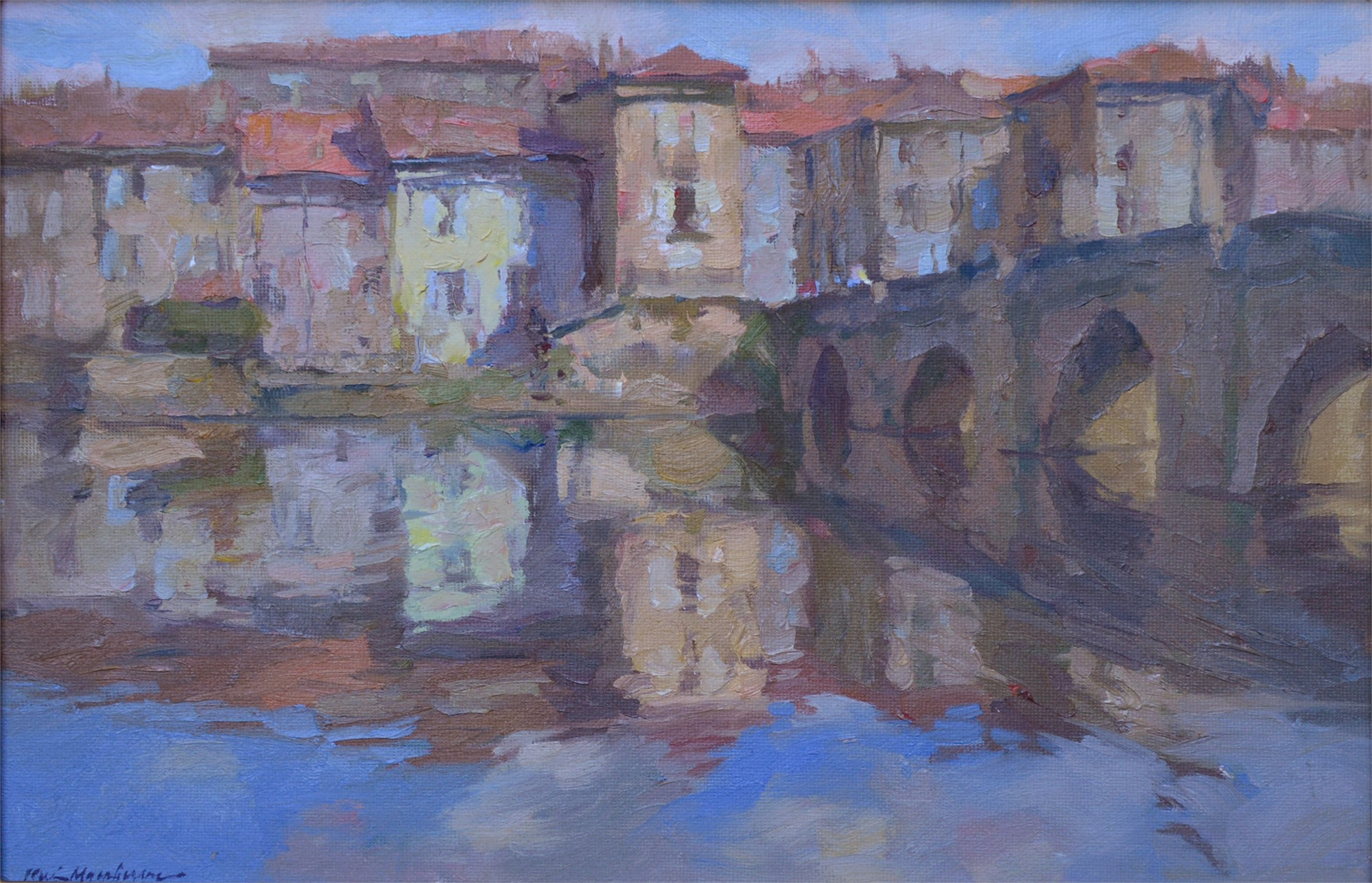A Bridge to Cross (France) by Kevin Macpherson