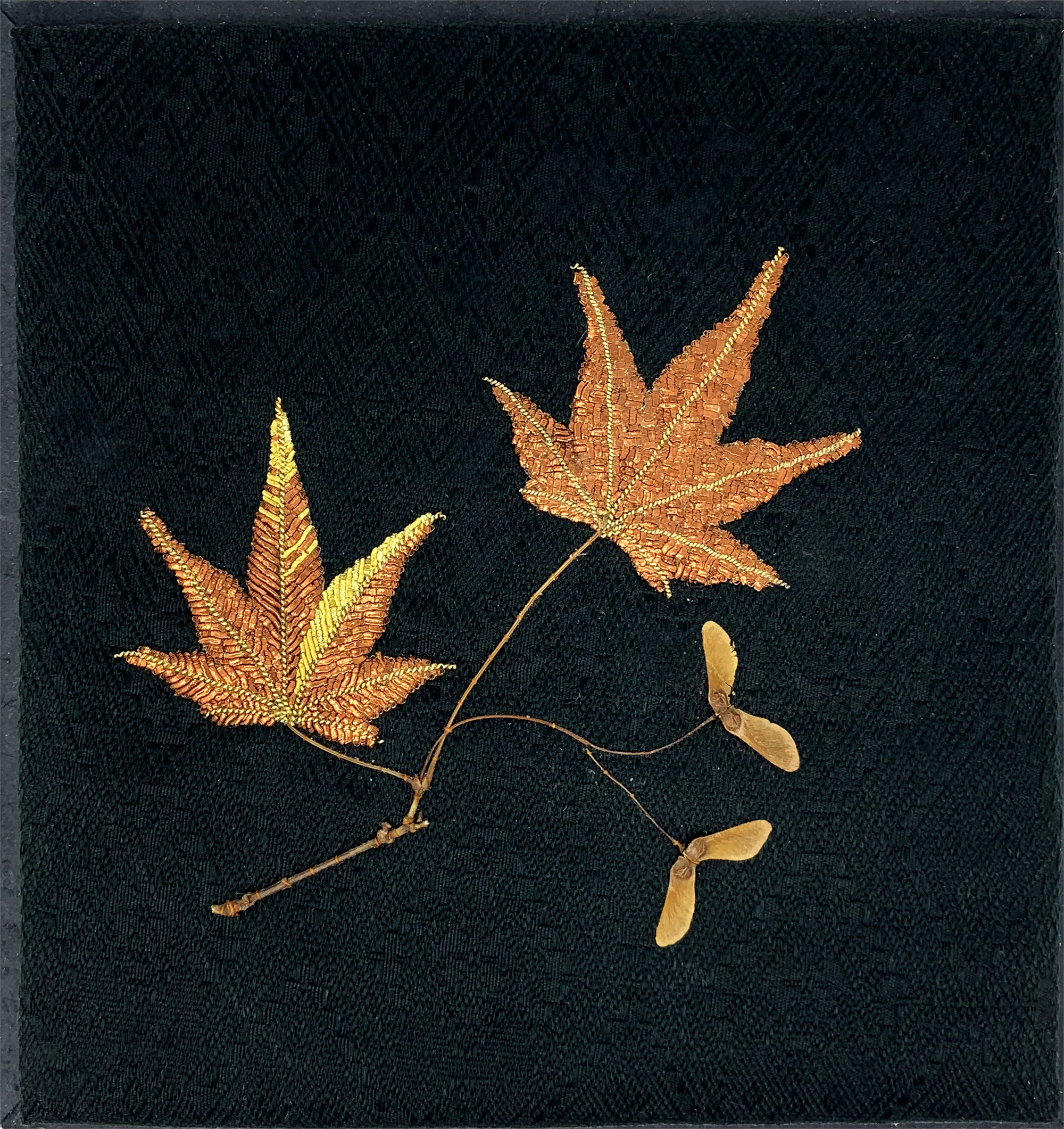 Kyoto, 2014: Maple Leaves and Seedlings by Tiao Nithakhong Somsanith
