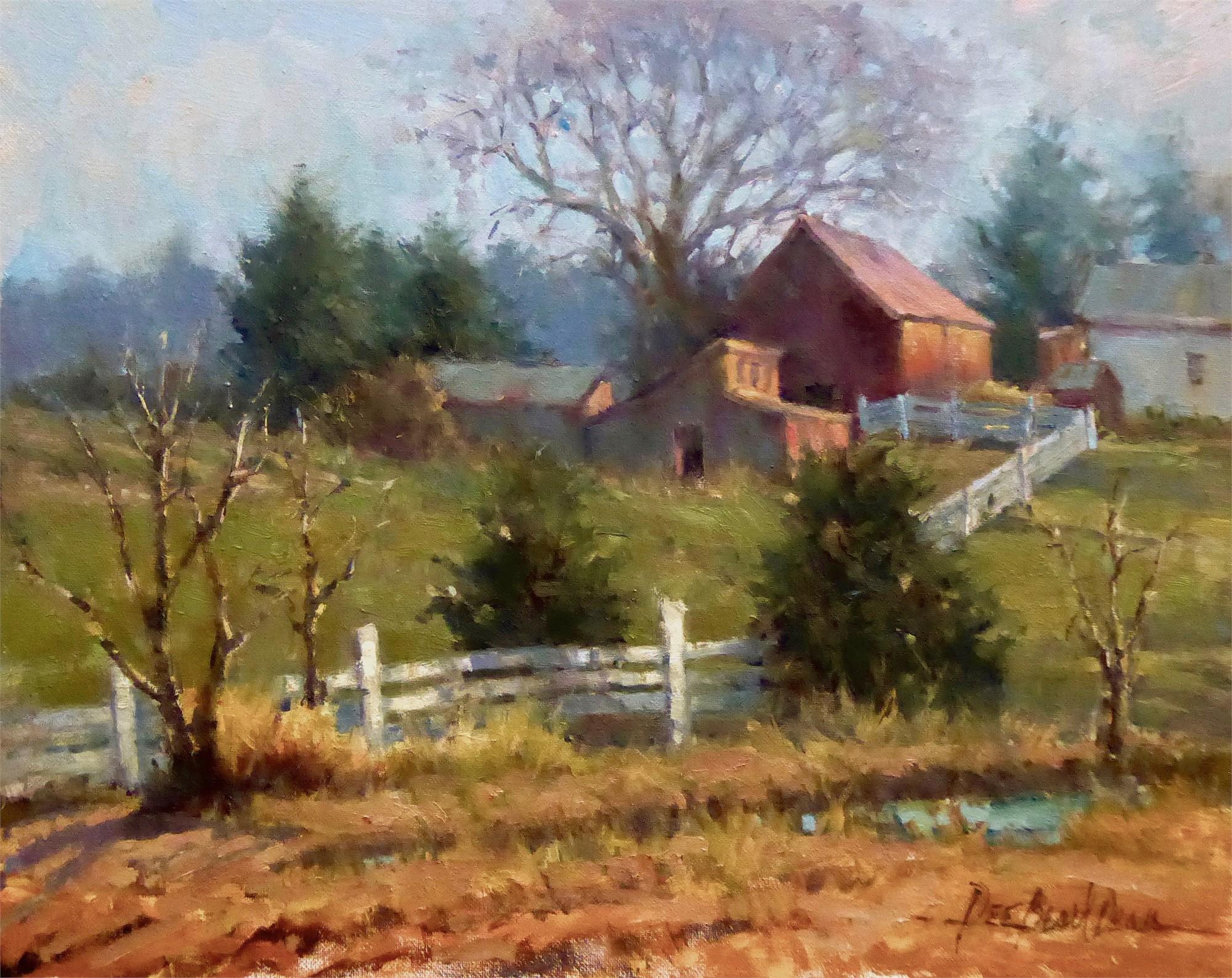The Old Homestead by Dee Beard Dean