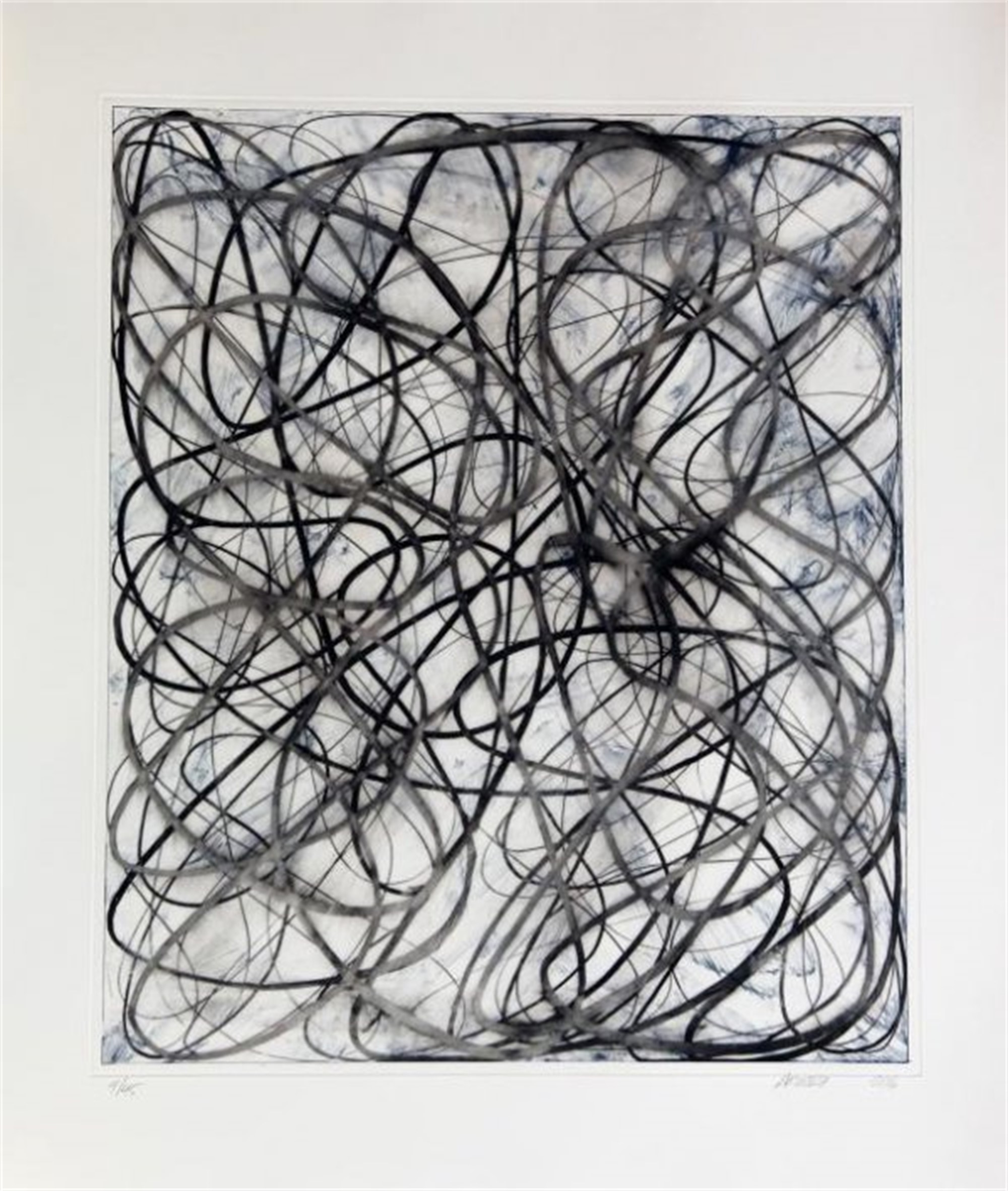 String Theory III by Charles Arnoldi