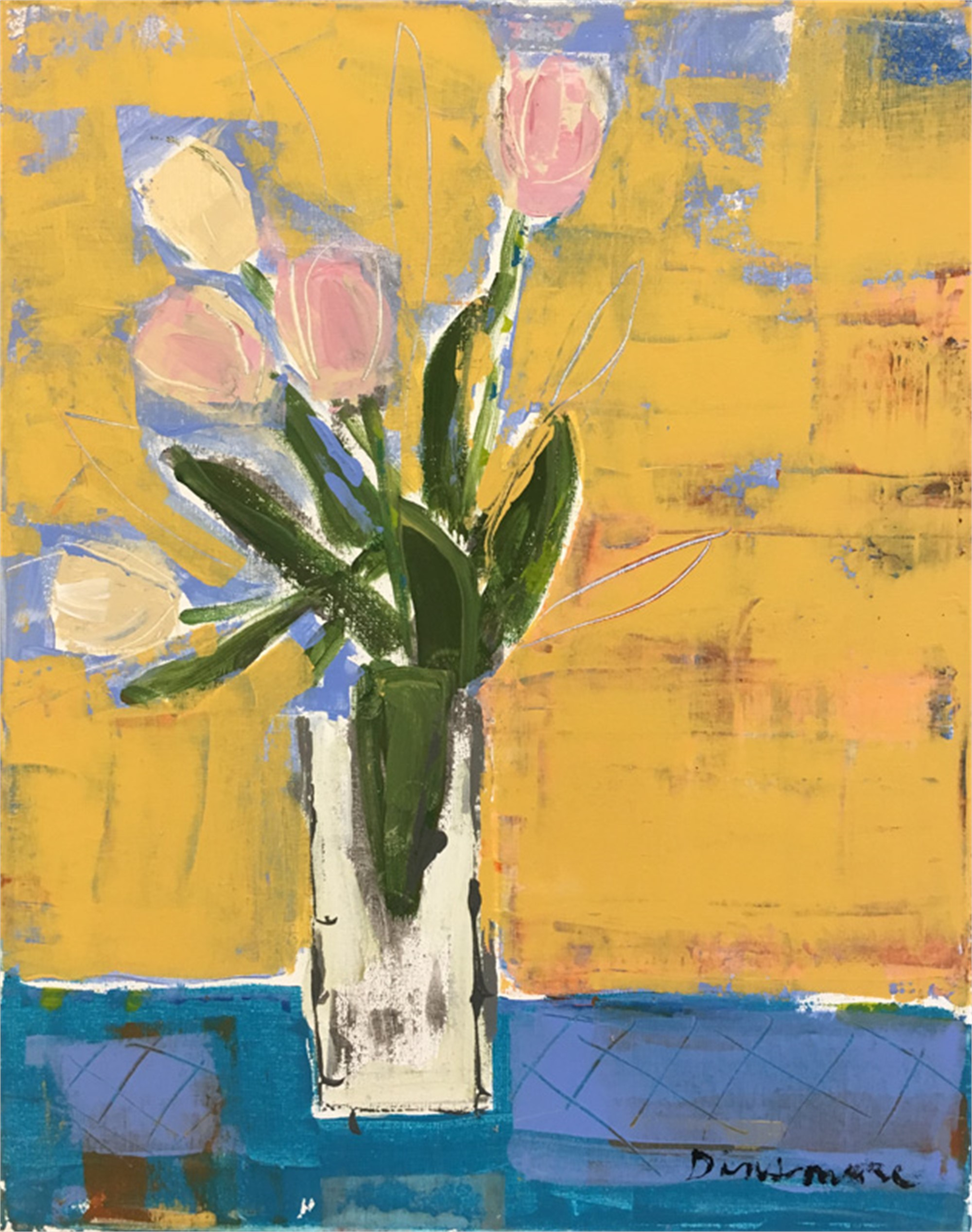 Five Tulips by Stephen Dinsmore