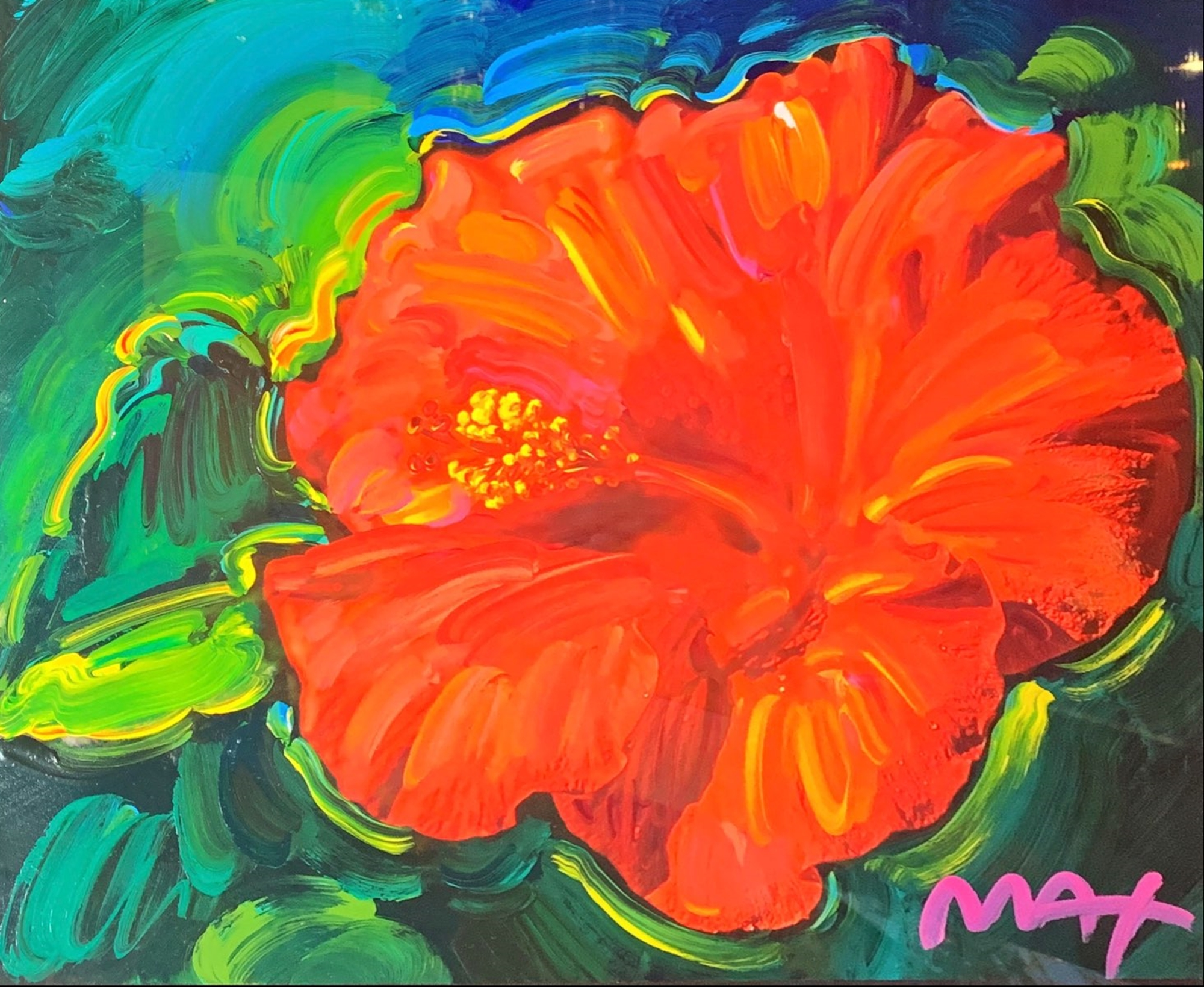Hibiscus by Peter Max