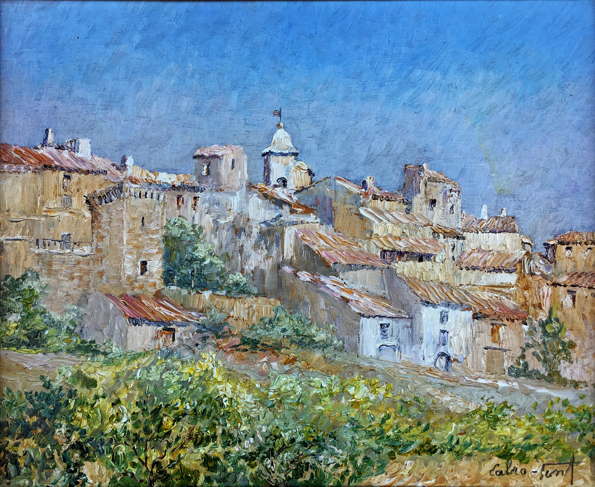 Village of Provence by LABRO-FONT