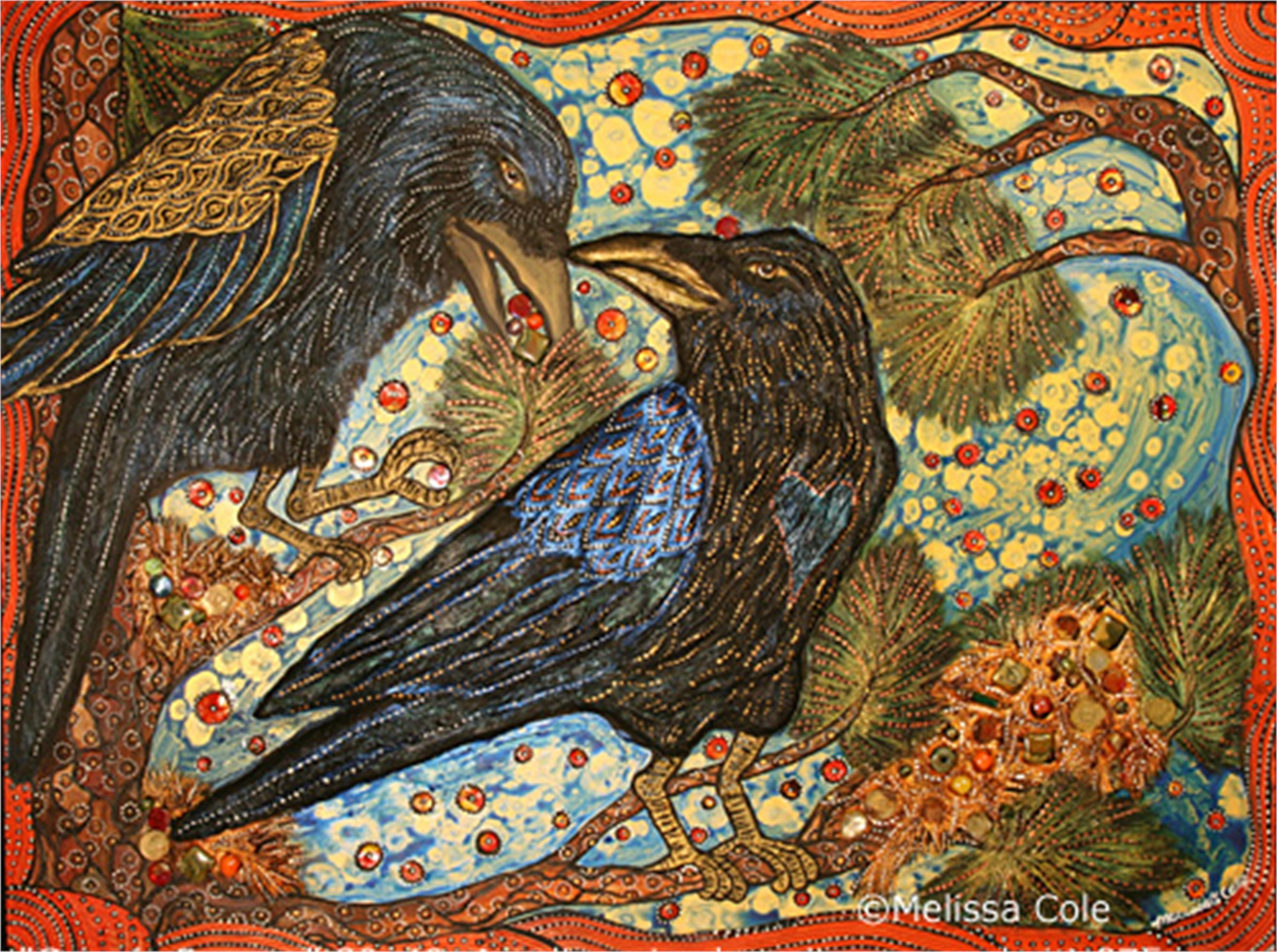 Greedy Ravens by Melissa Cole