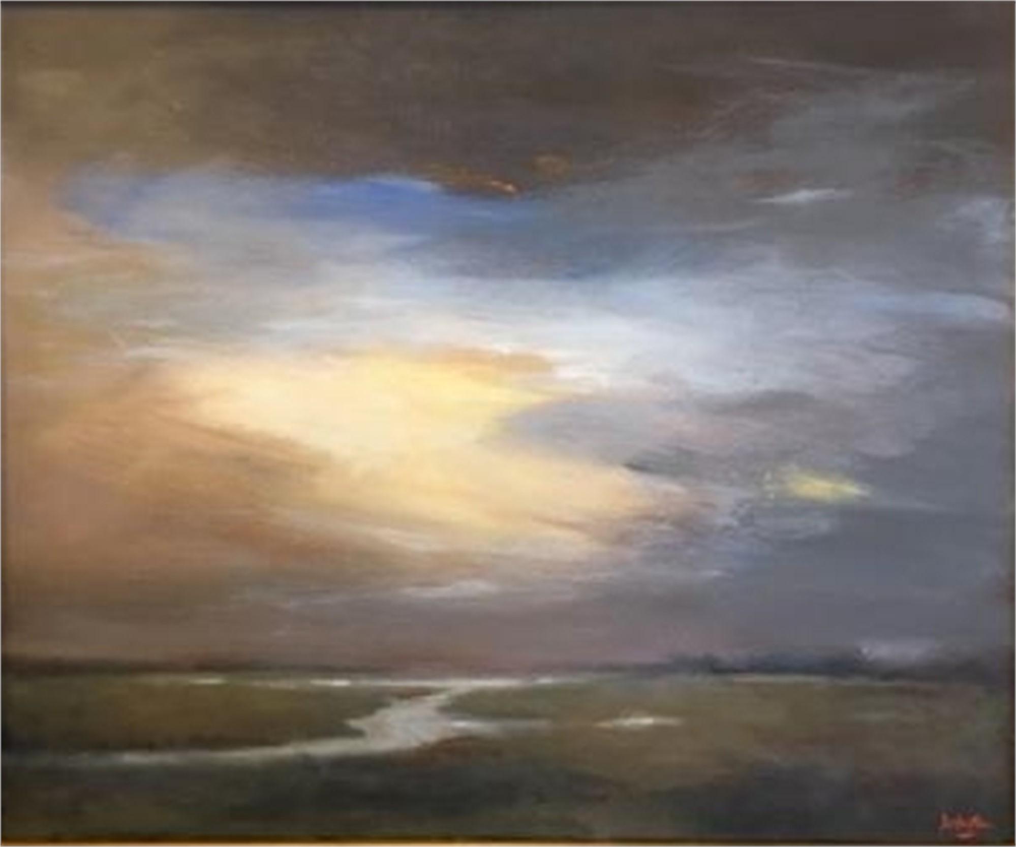 Evening Over Marsh by Jim Darlington