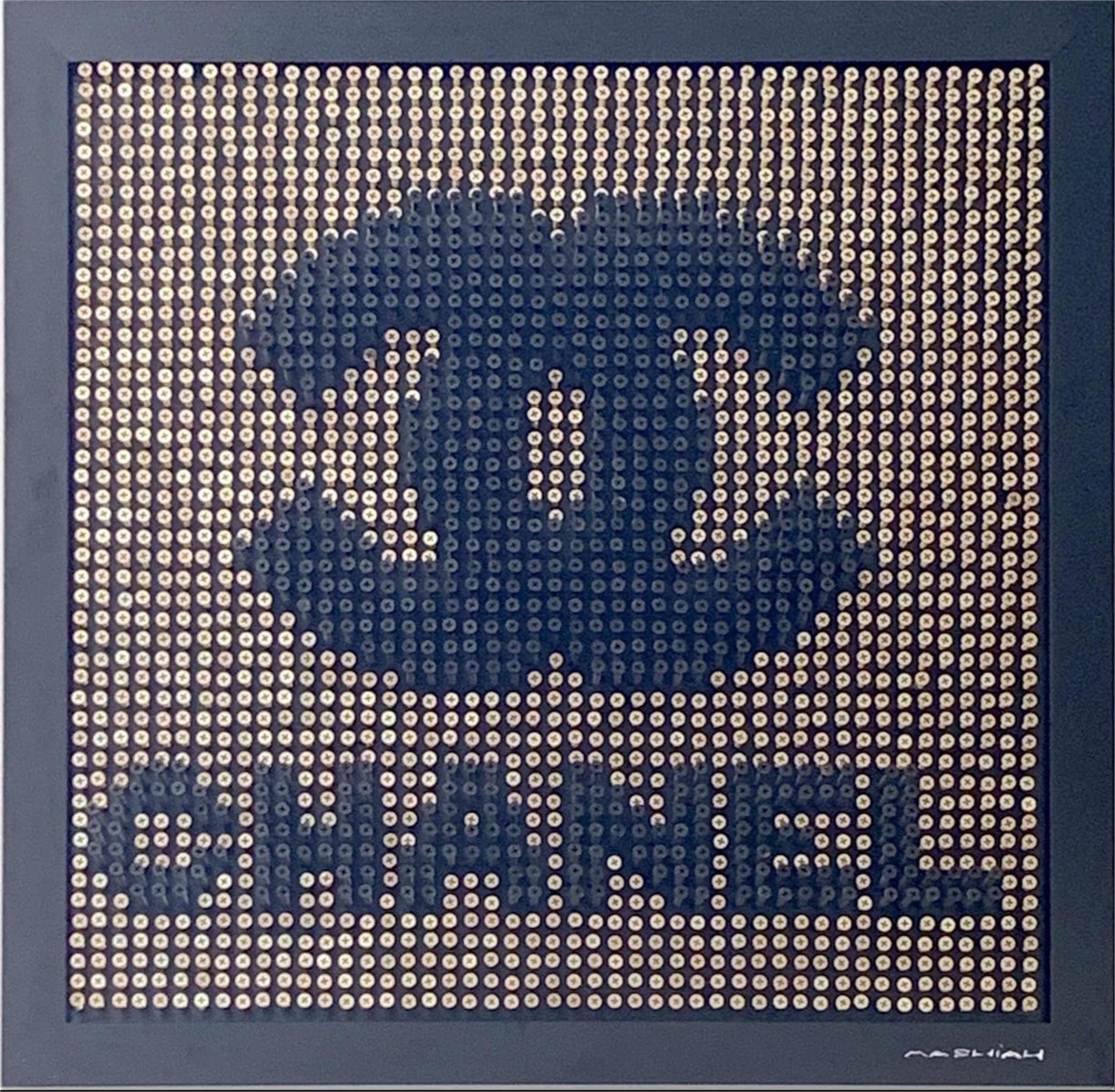 Chanel - Gold Background by Efi Mashiah