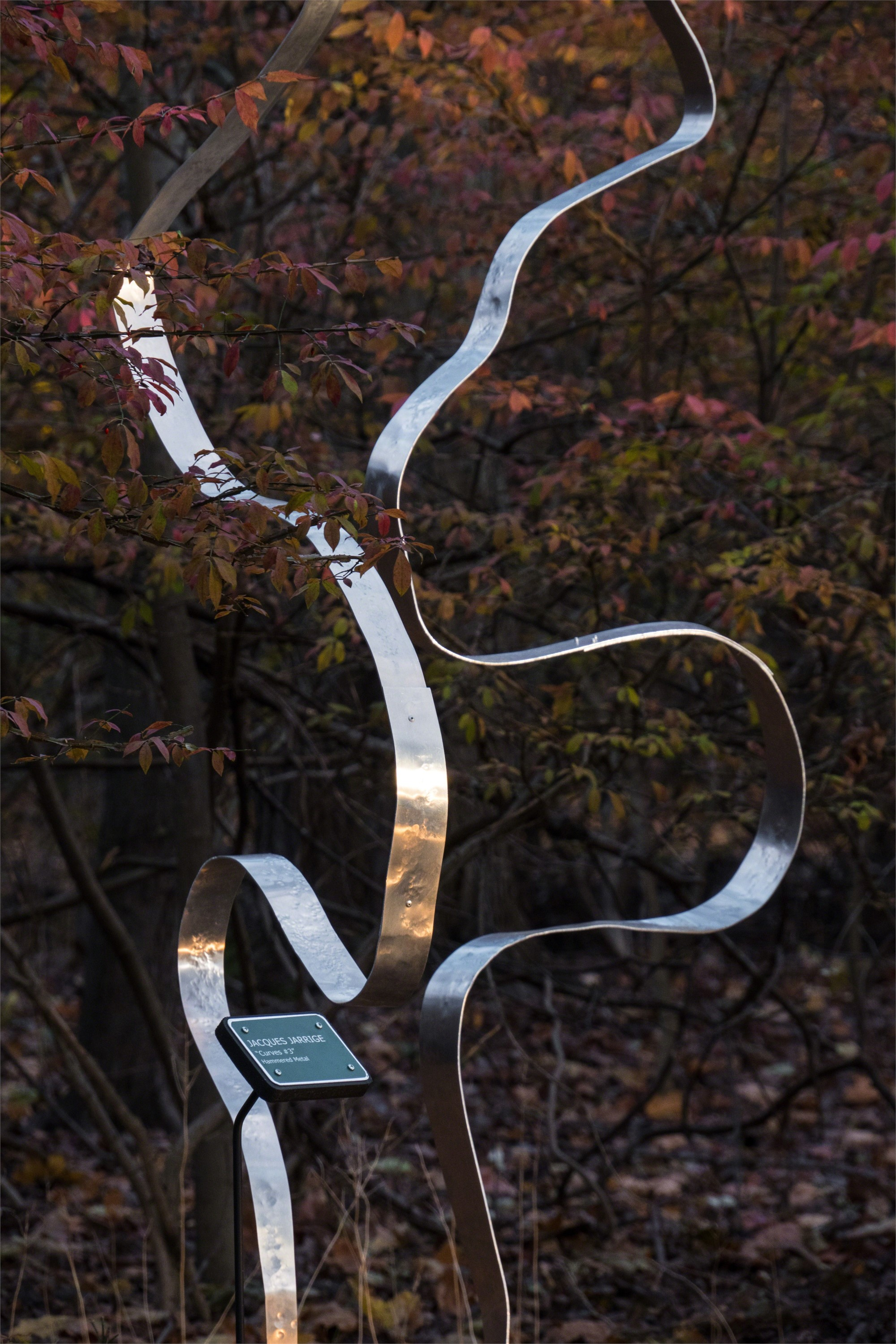 """""""Curves #4 """" Kinetic Sculpture  by Jacques Jarrige"""