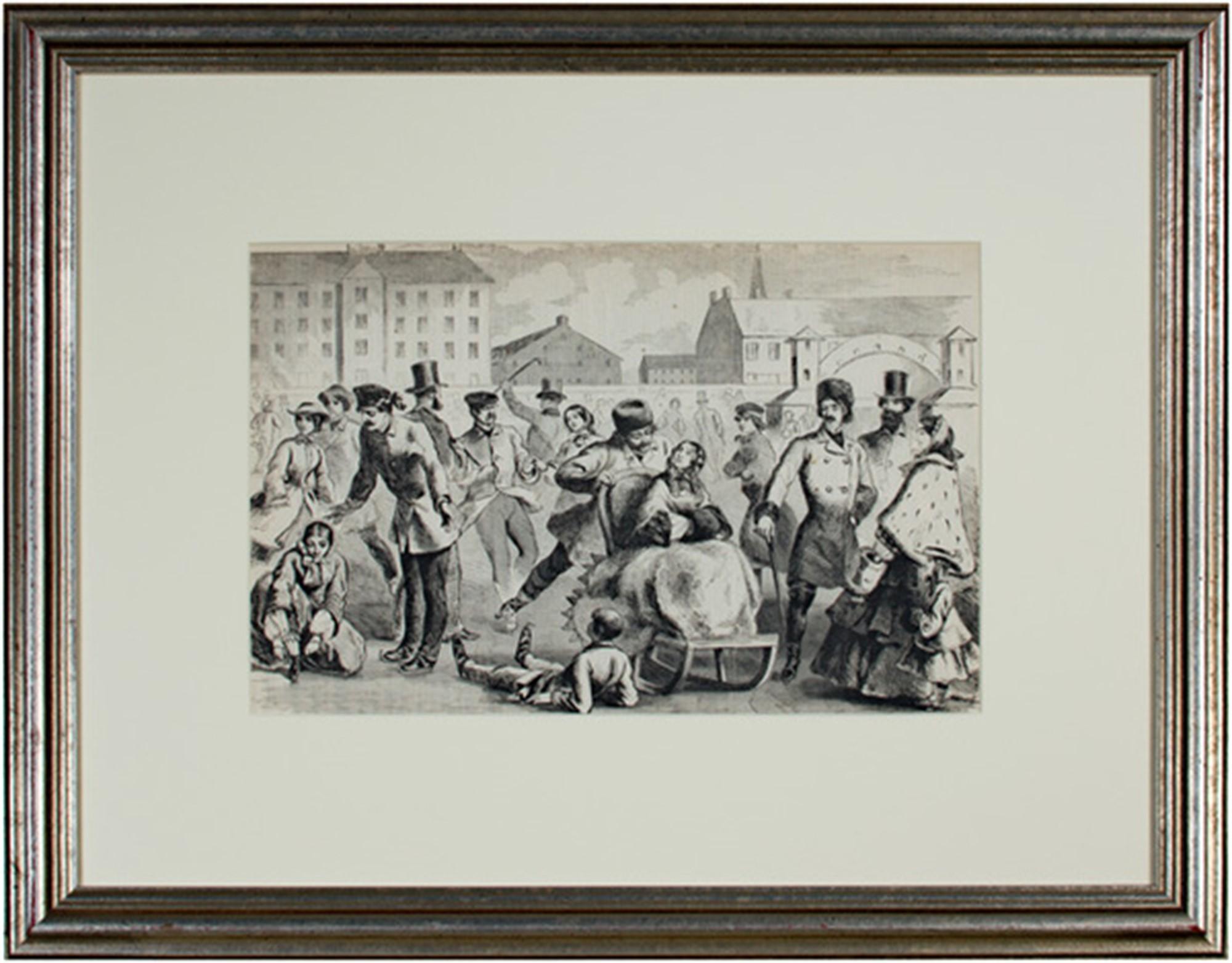 Skating at Boston by Winslow Homer