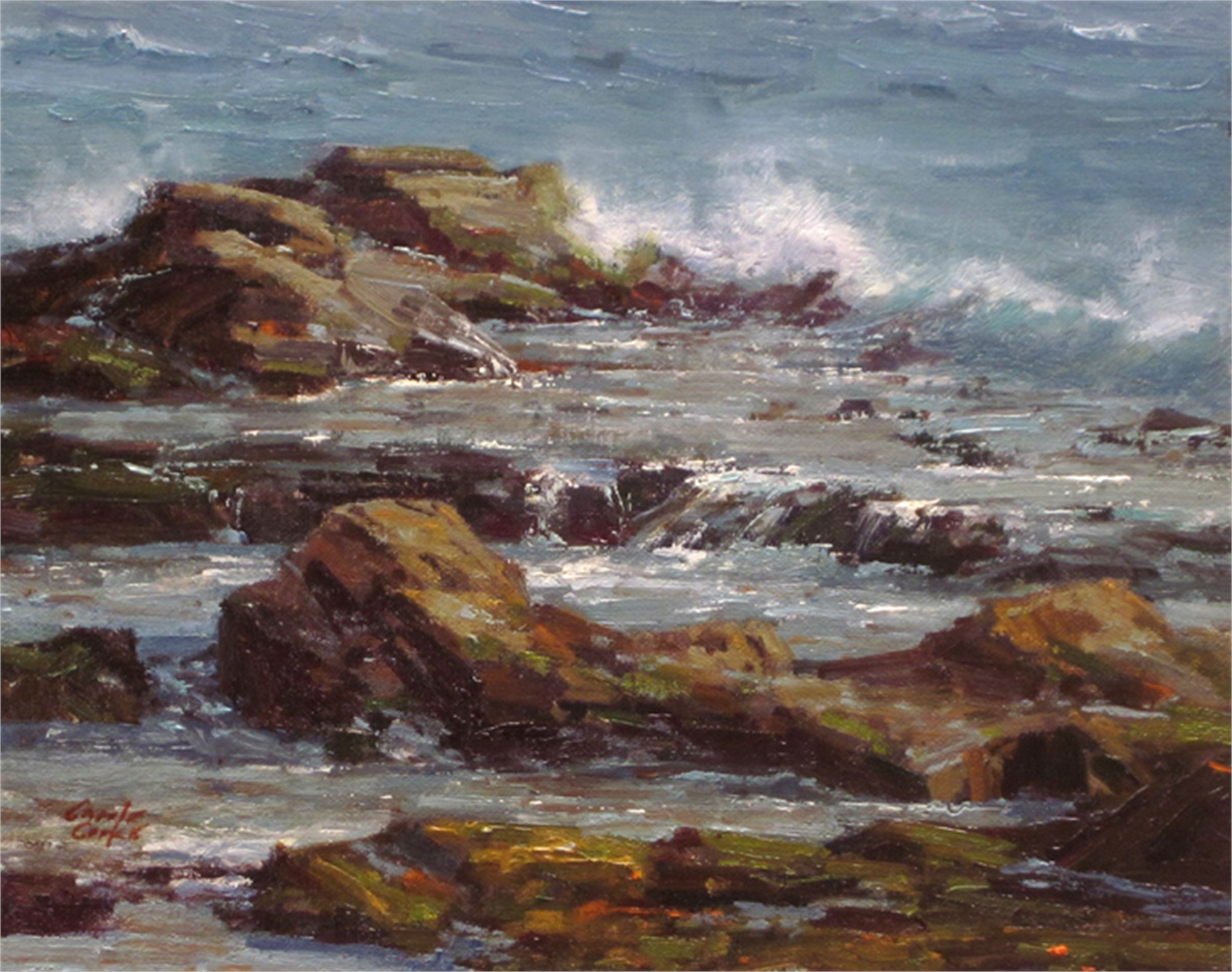 Wind and Sea by Carole Cooke