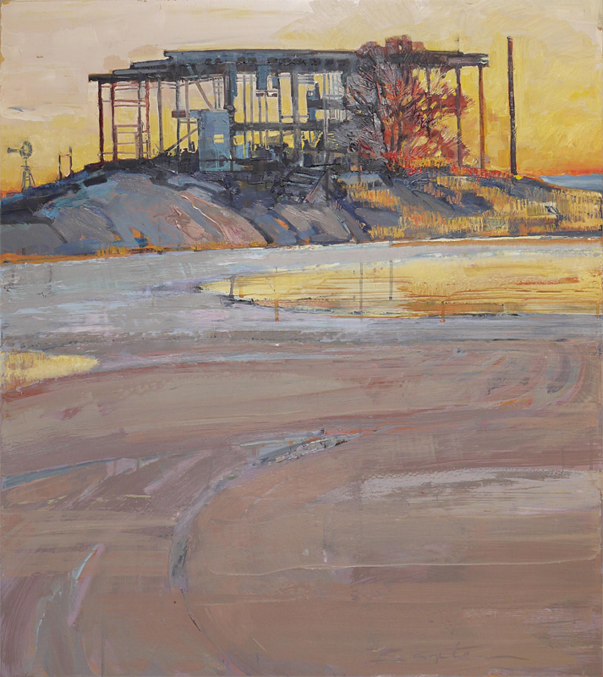 Abandoned Loading Dock by Mary Baxter