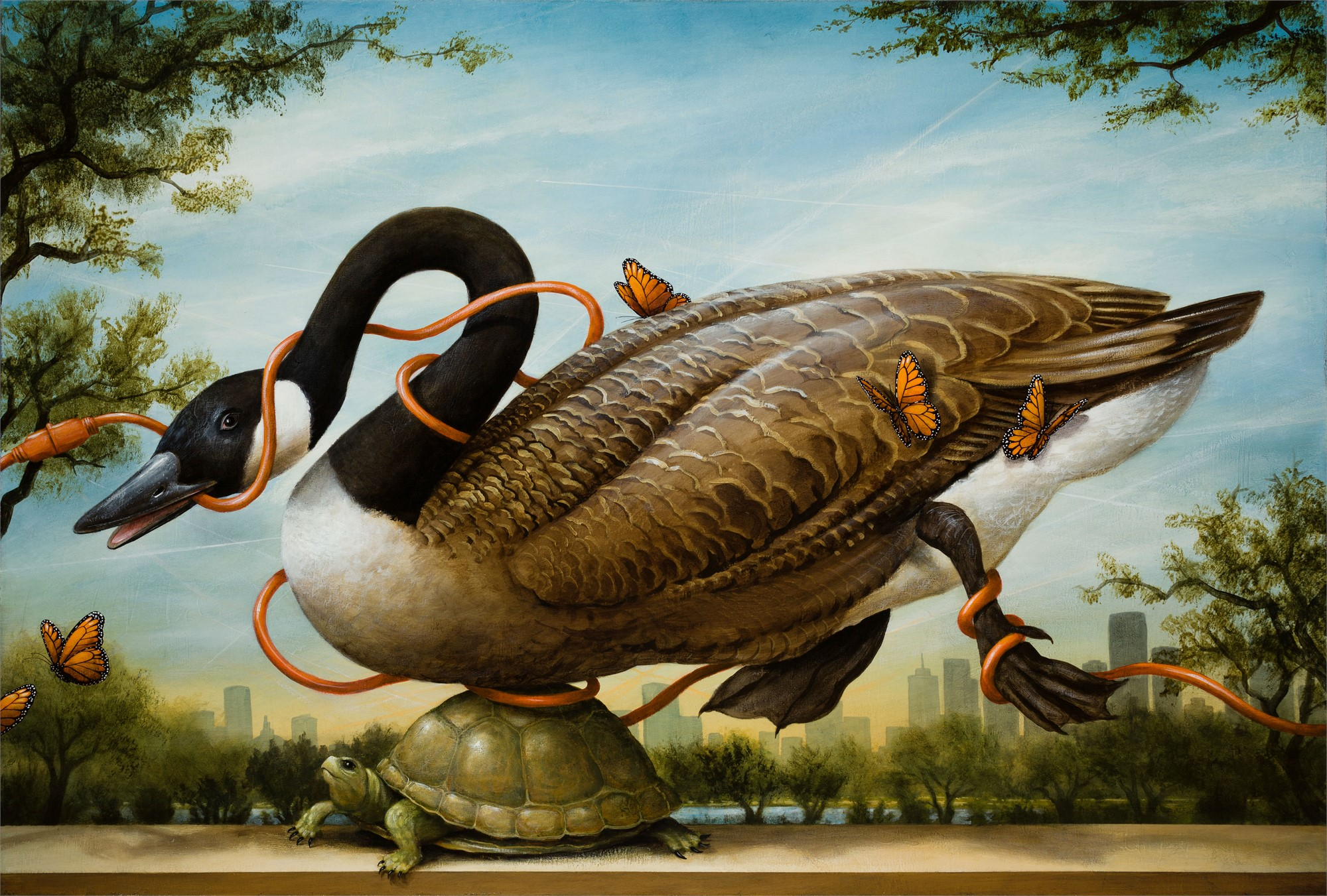 Migration Interrupted by Kevin Sloan