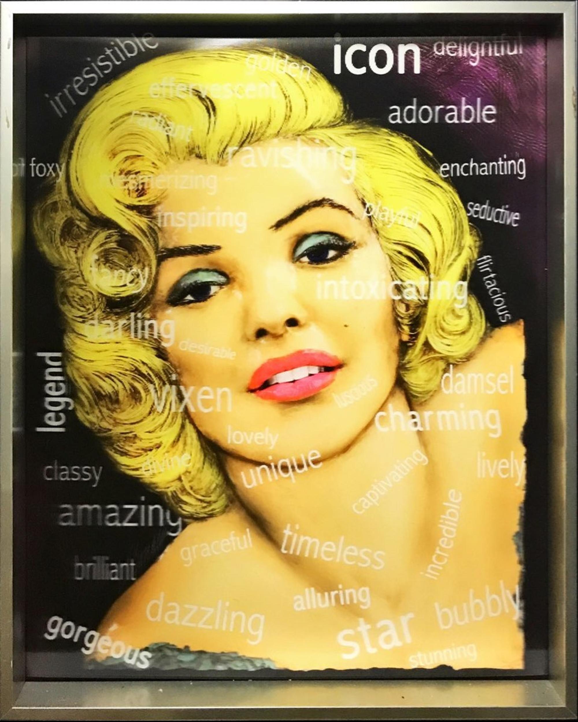 Marilyn Virtual Relief by Bill Mack