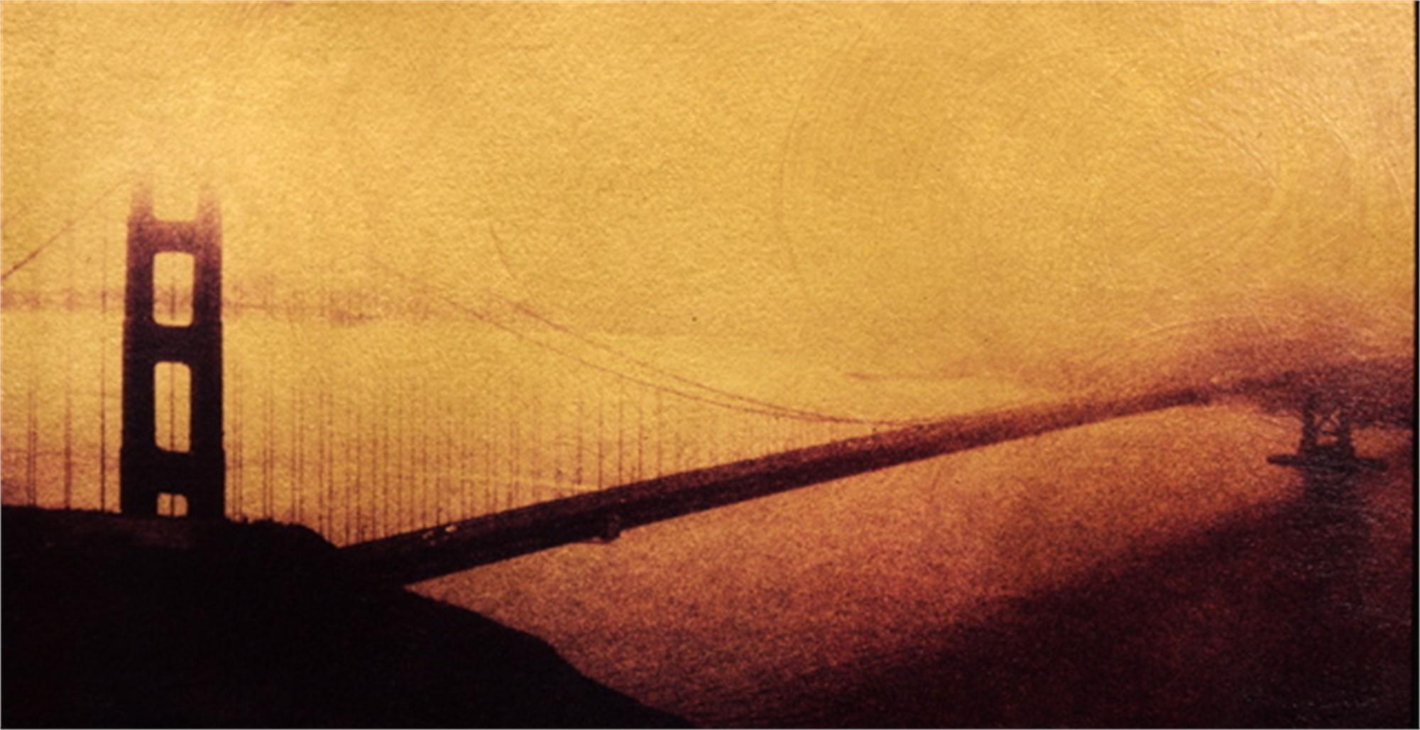 GG Bridge Study #2 by Patty Mulligan