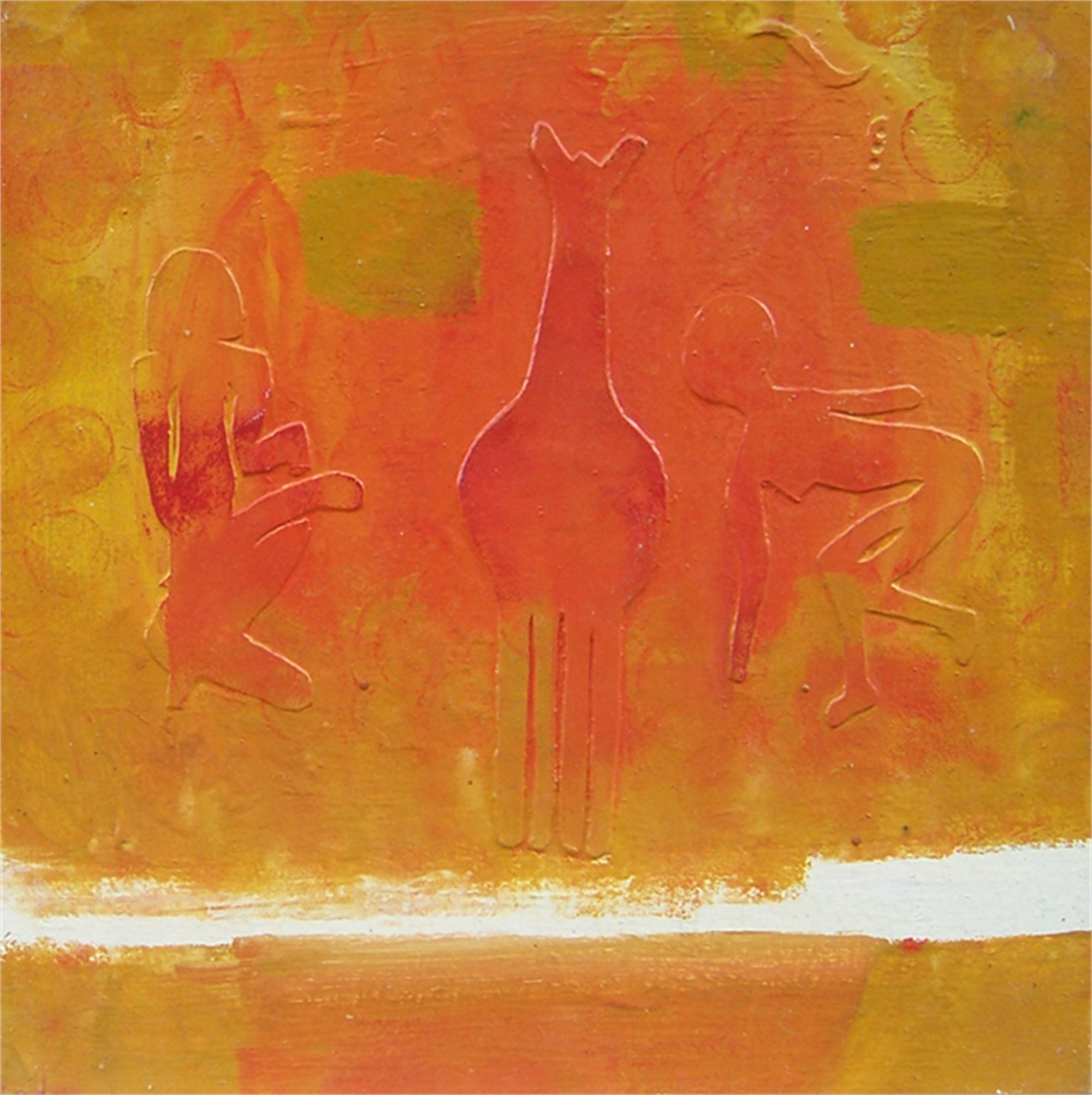 Giraffentanz by Hans Joerg Fuerpass