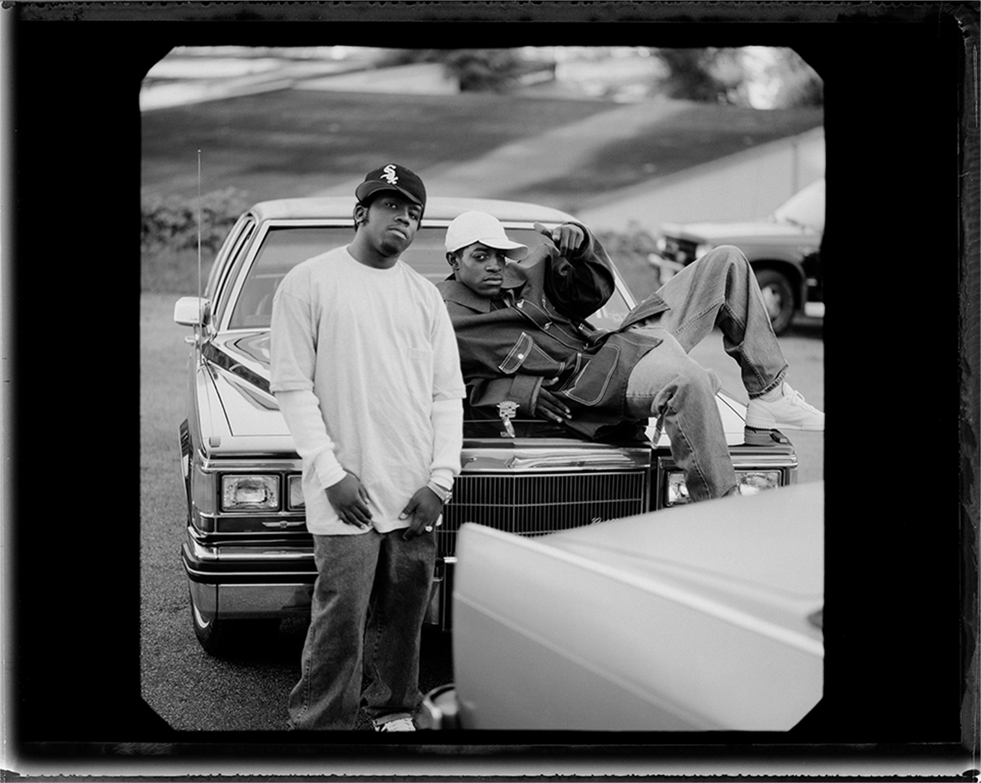93125 Outkast On the Cadillac BW by Timothy White