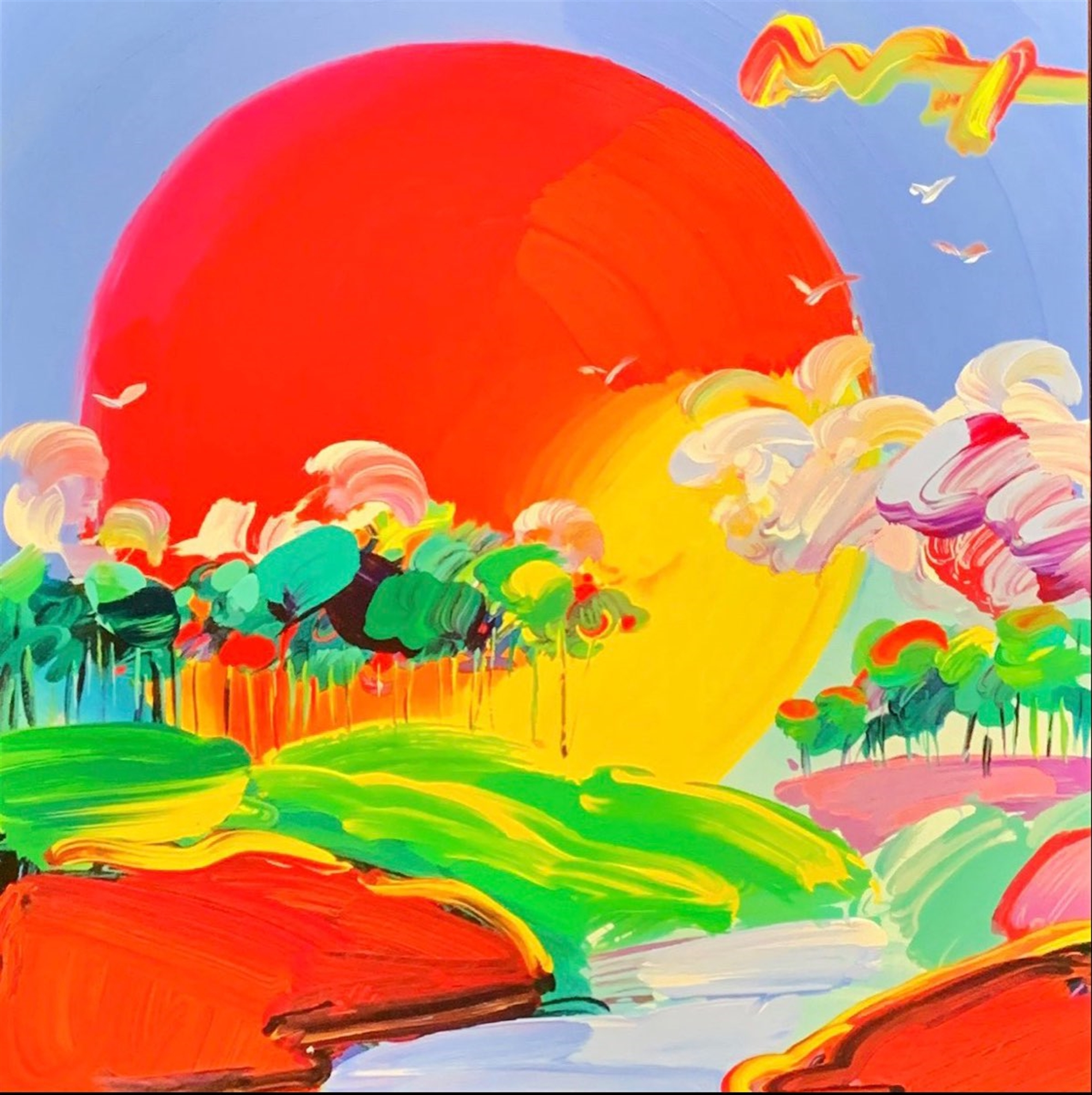 Retro: Without Bordres by Peter Max
