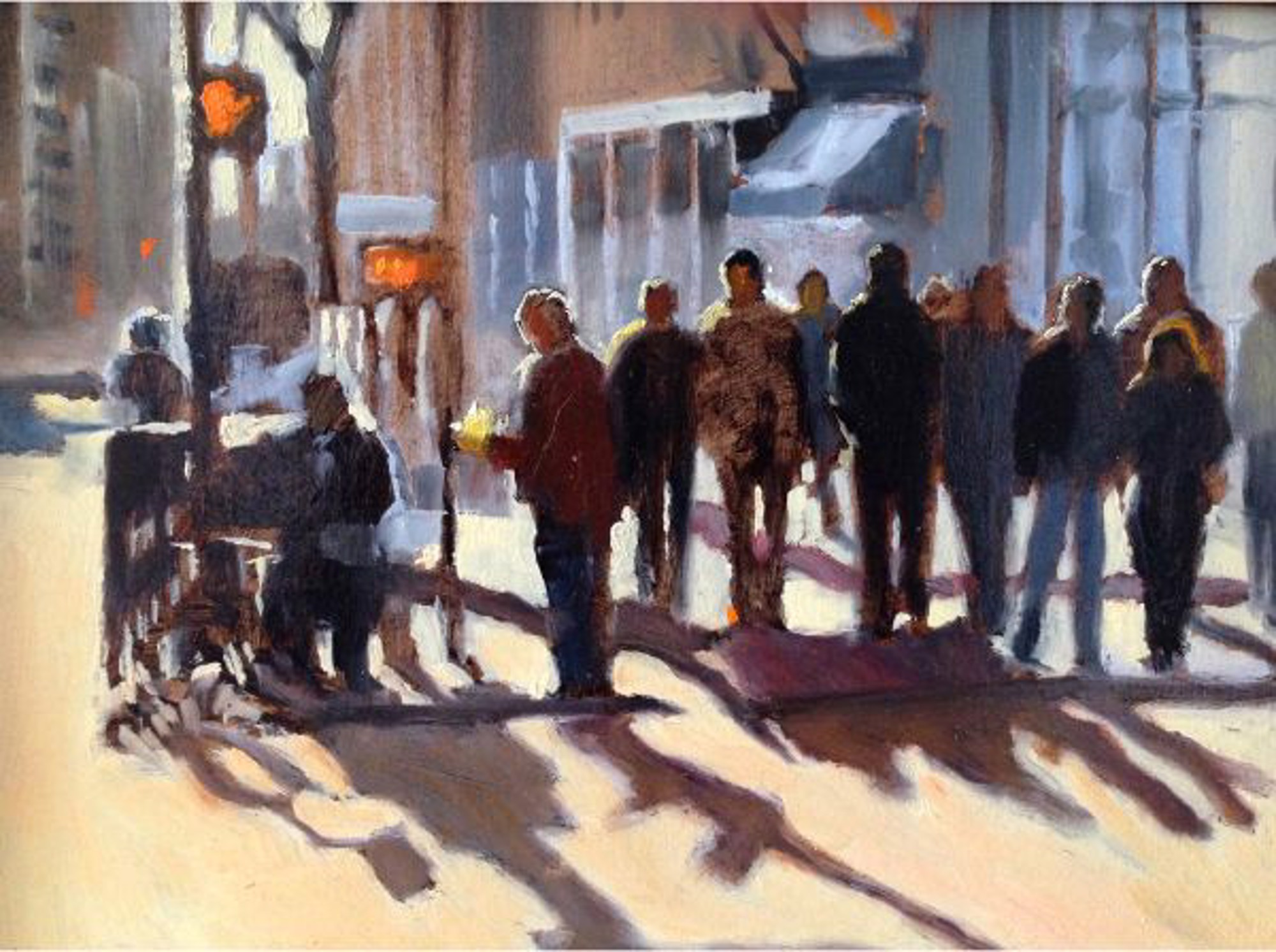 Sunny Day on 5th by Betsy Havens
