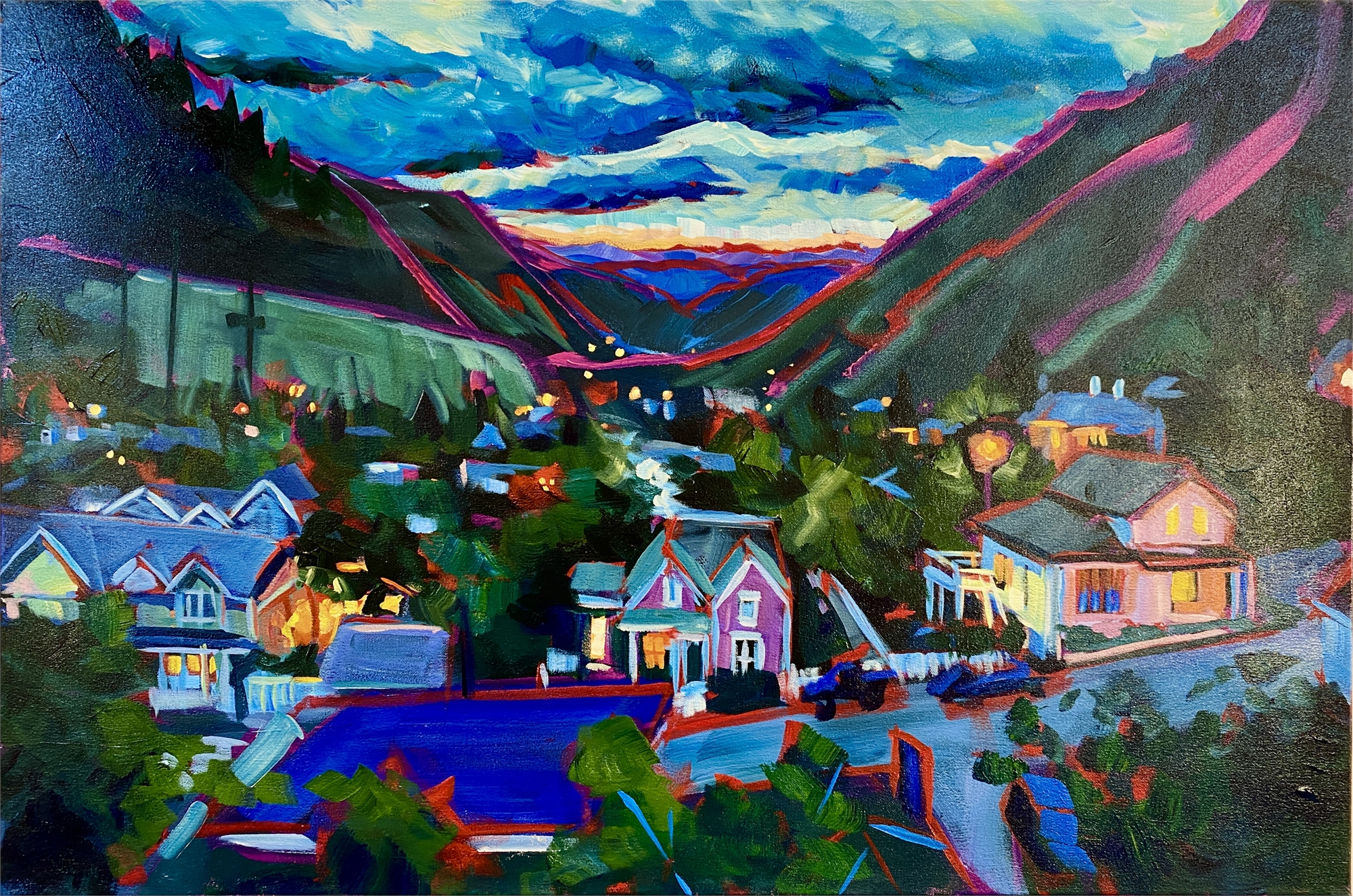 View of Georgetown by Sari Shryack