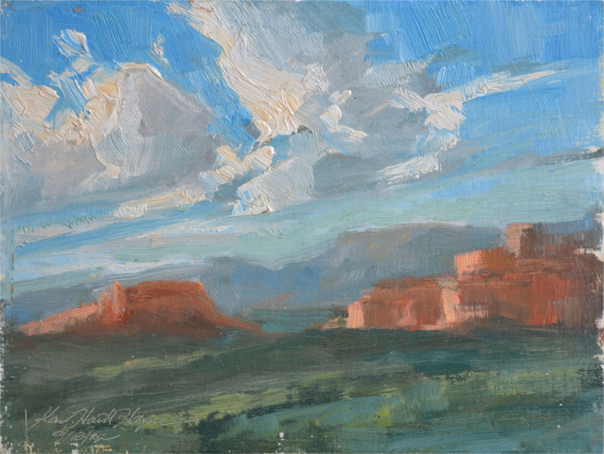 Sedona Afternoon by Karen Hewitt Hagan