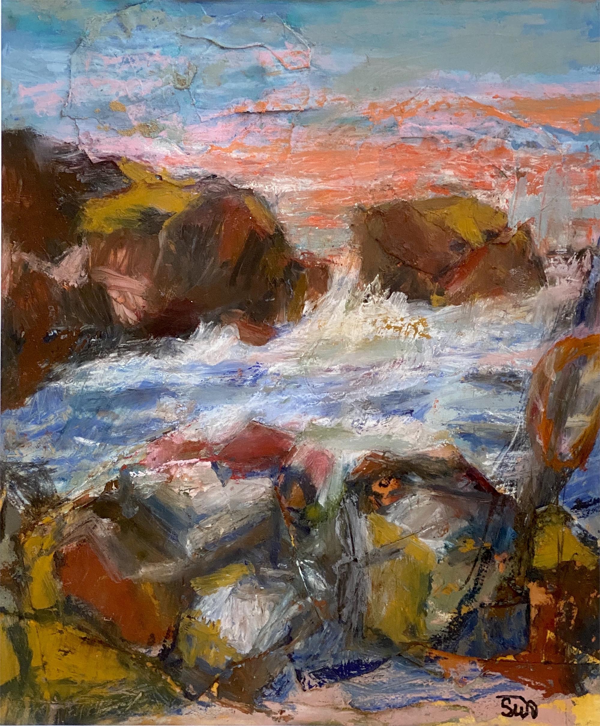Monhegan Surf by Susan Altman