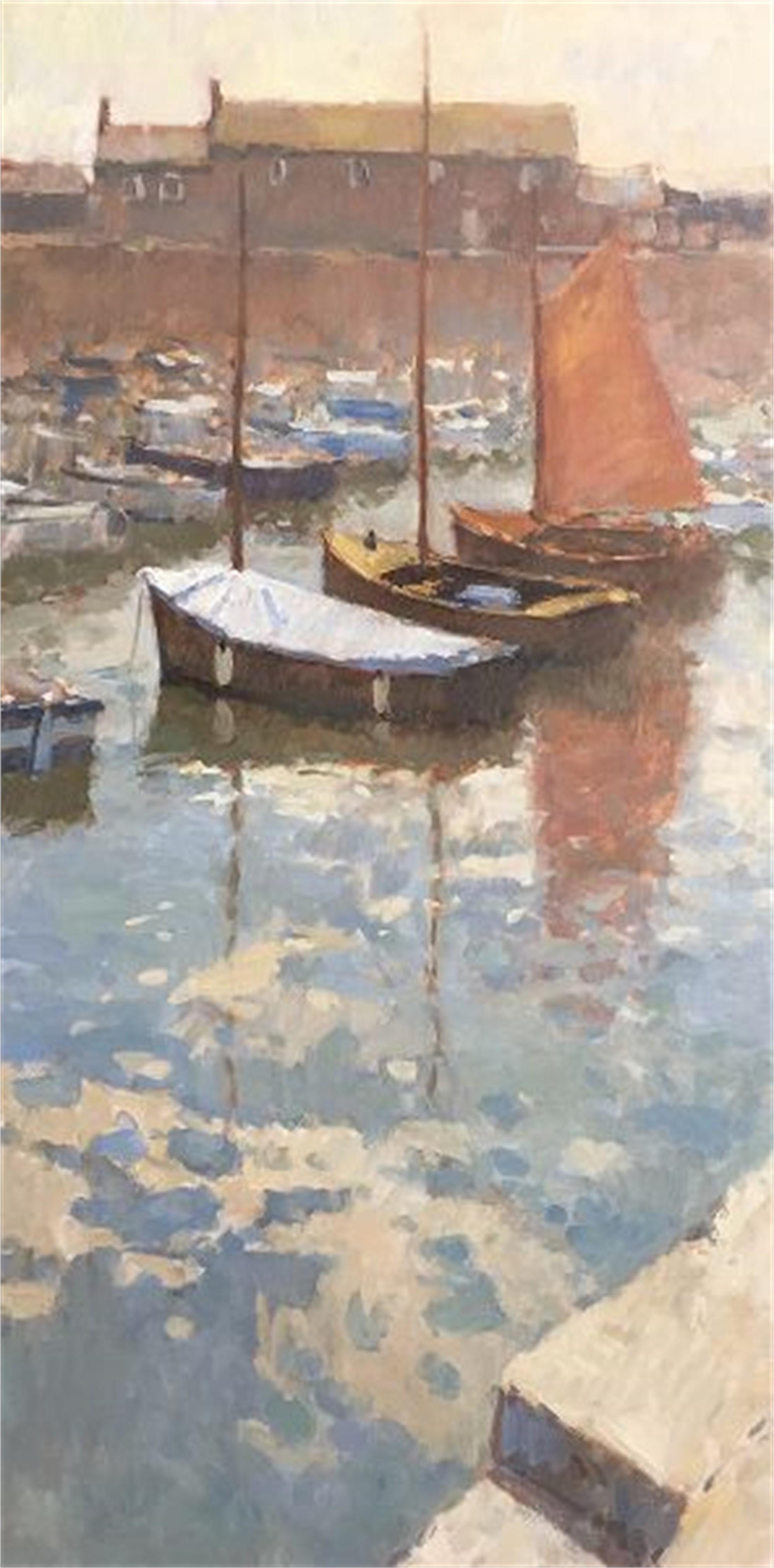 Serene Harbor by Richard Oversmith