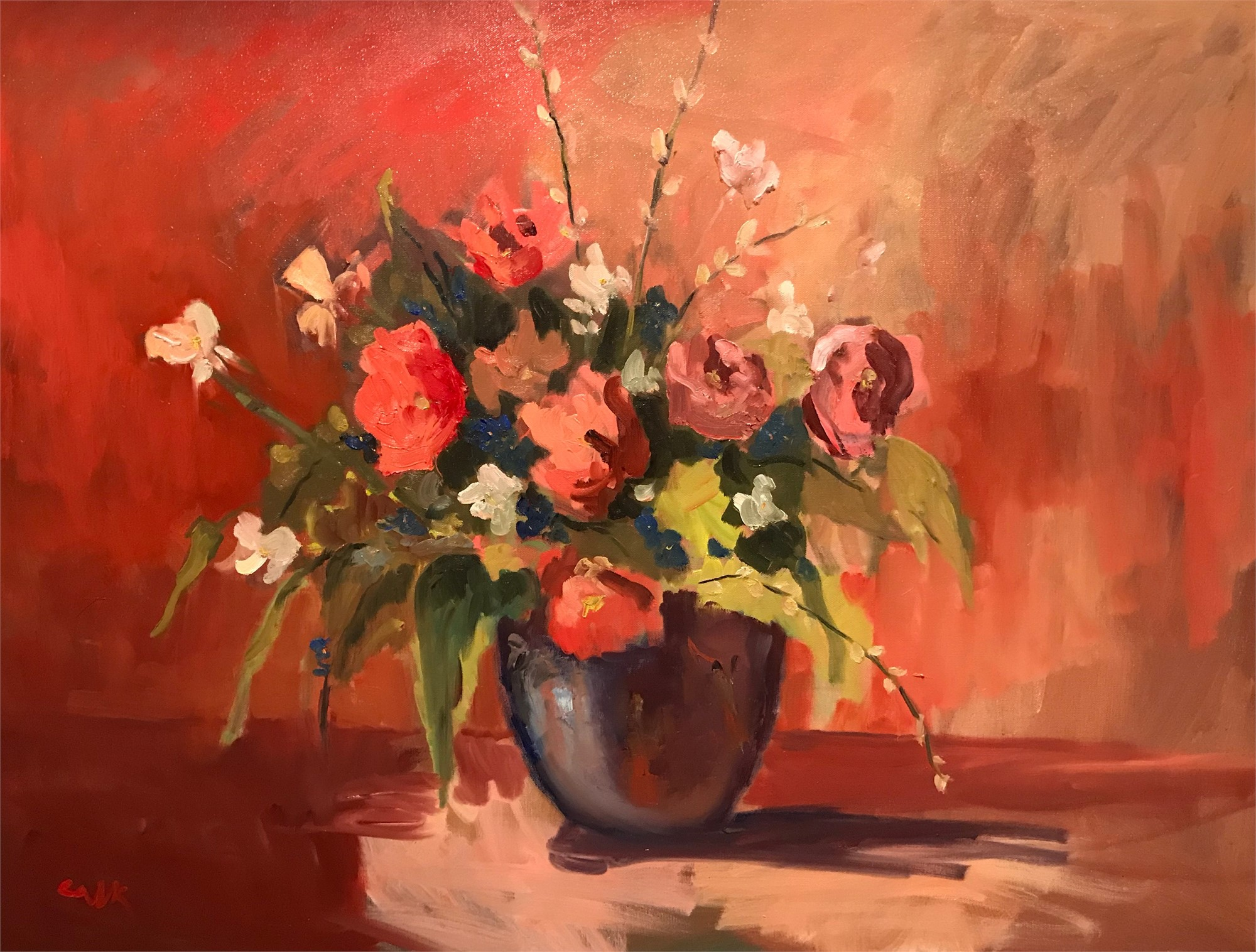 Roses by James Calk