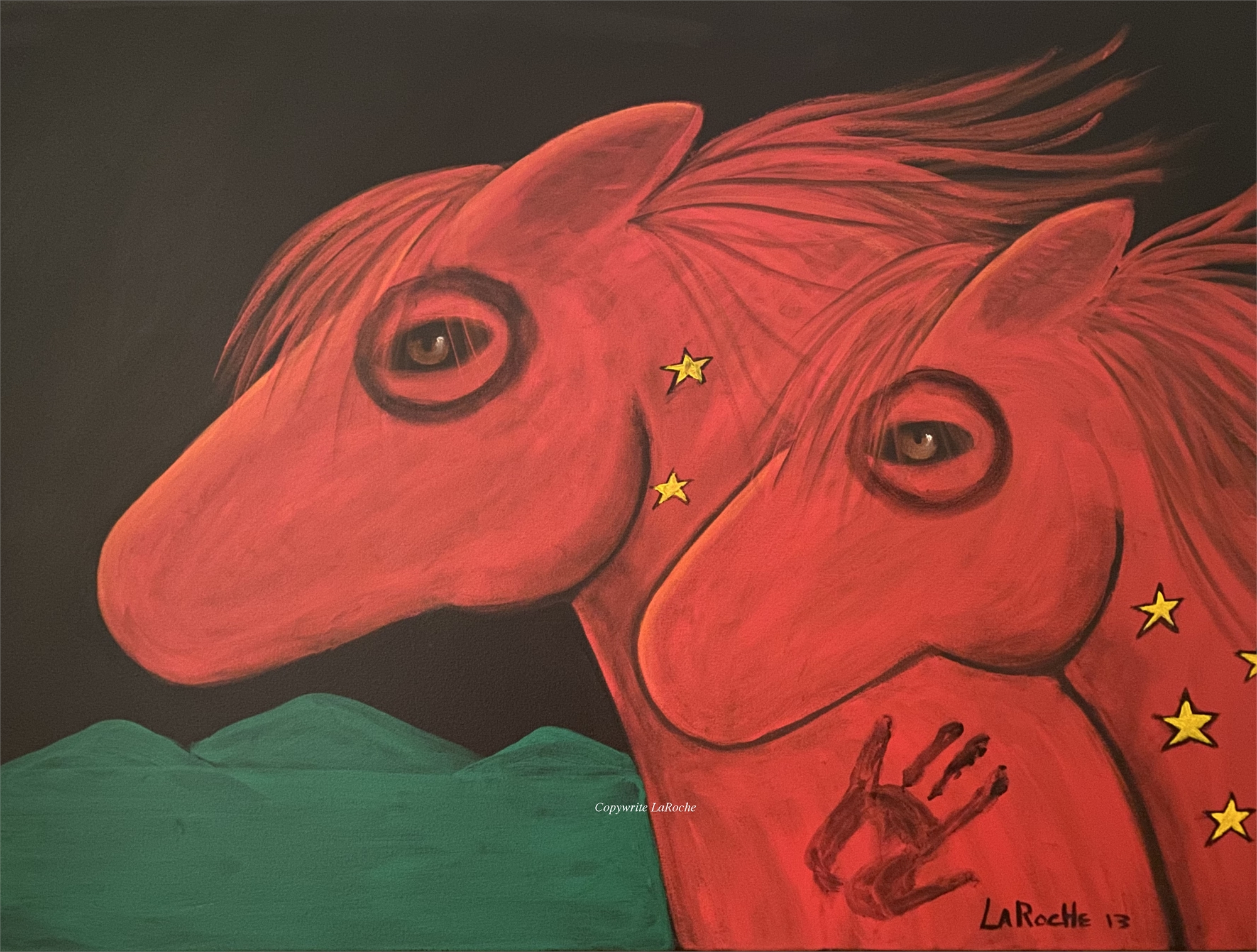 PAINTED PONY by Carole LaRoche