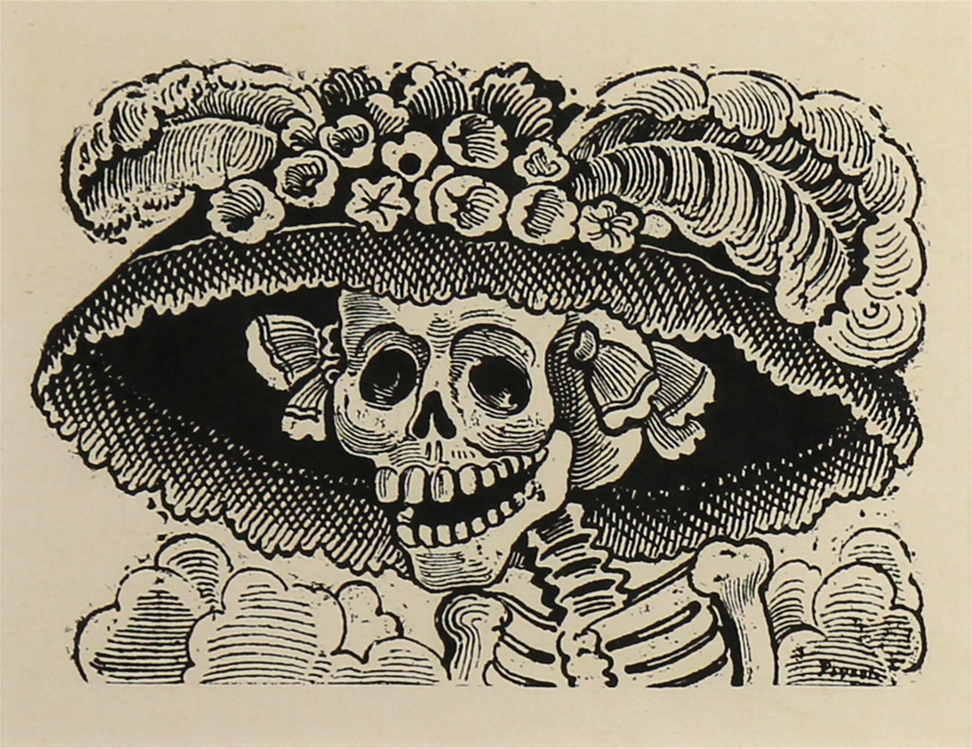 La Calavera Catrina by José Guadalupe Posada