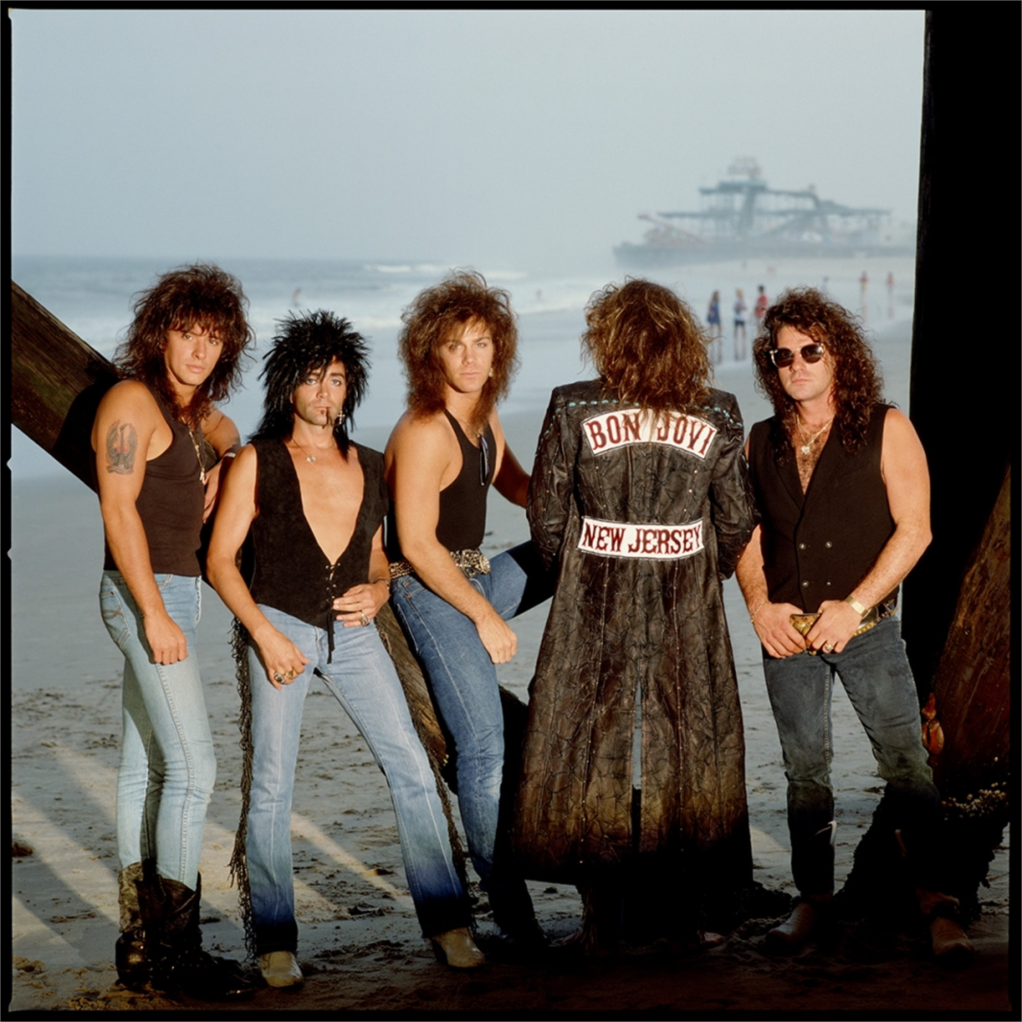 88130 Bon Jovi Band Under the Pier Color by Timothy White