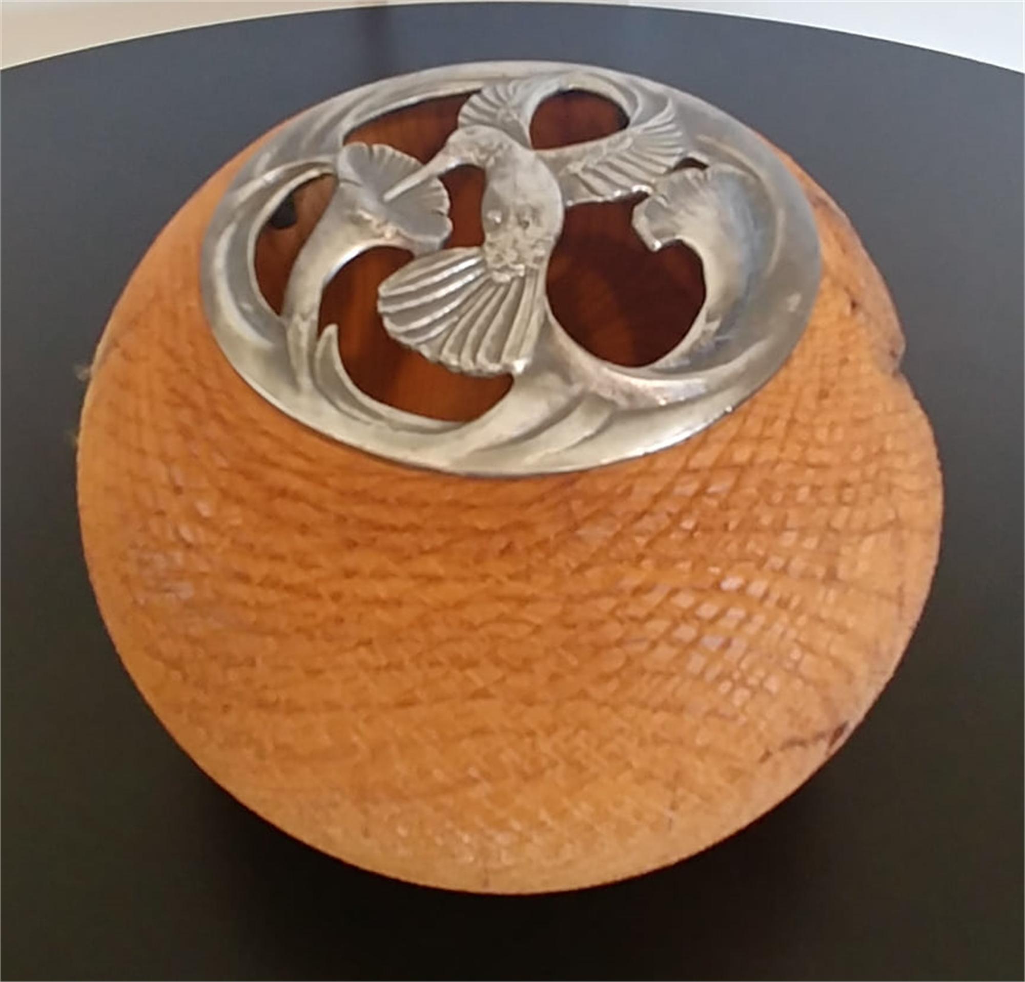 Misquite Potpourri Bowl by Gary Dahrens (Lafayette, OR)