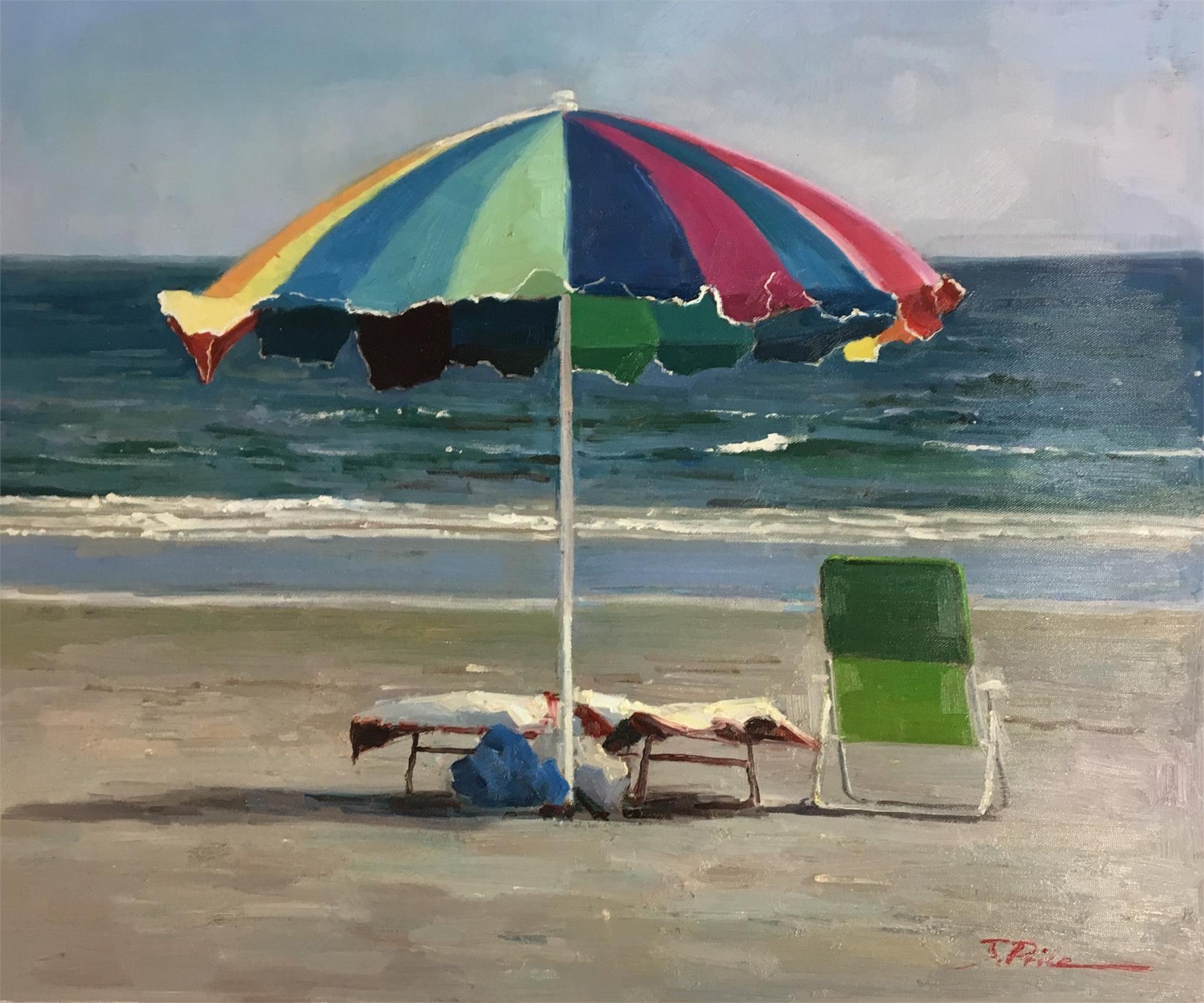 BEACH UMBRELLA by J PRICE